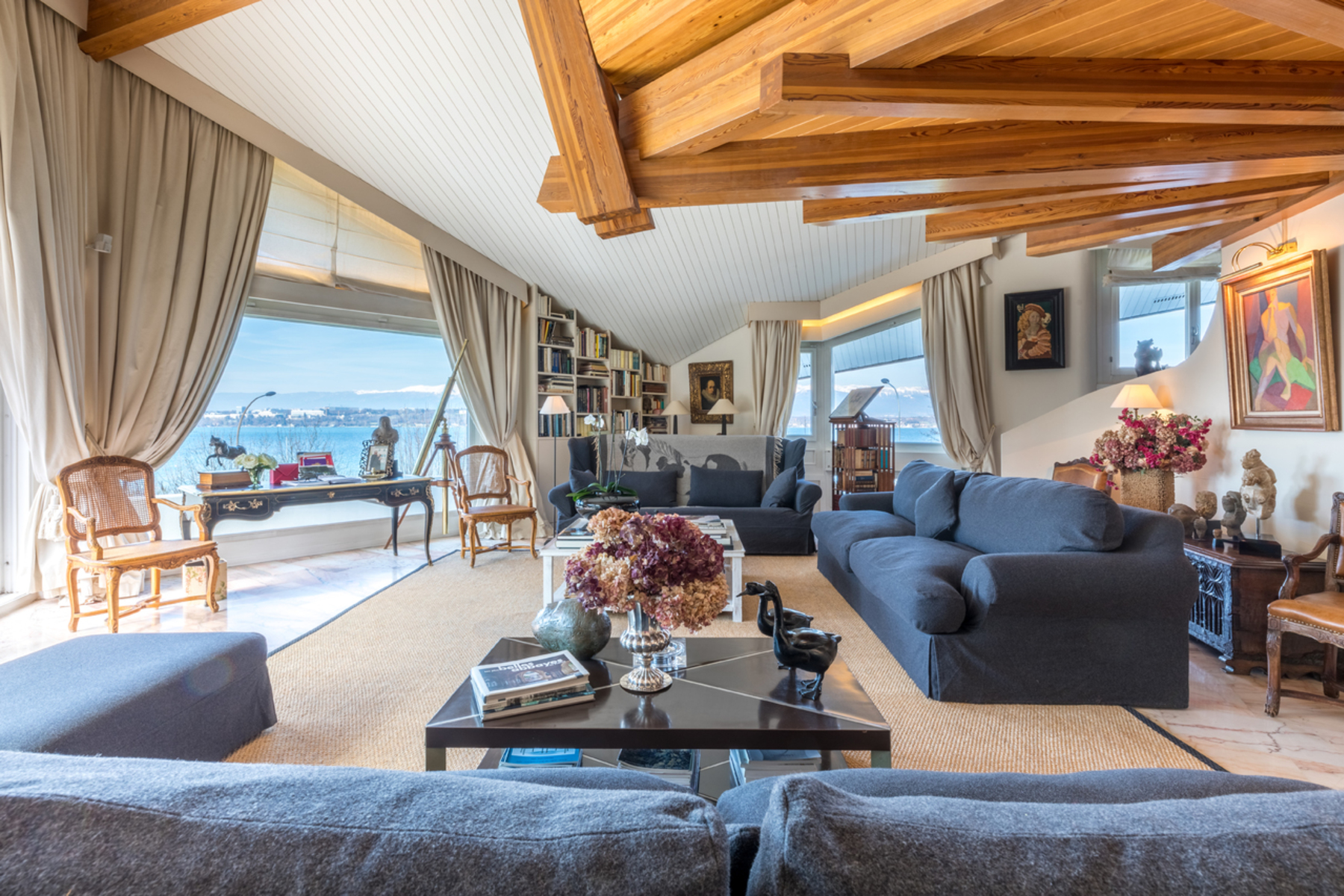 Property for Sale at Prestigious address with breathtaking views, property in perfect condition Cologny Cologny, Geneva 1223 Switzerland