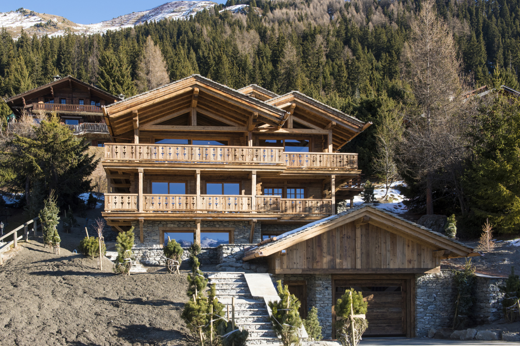 single family homes for Sale at Chalet LES ESSERTS Verbier Verbier, Valais 1936 Switzerland