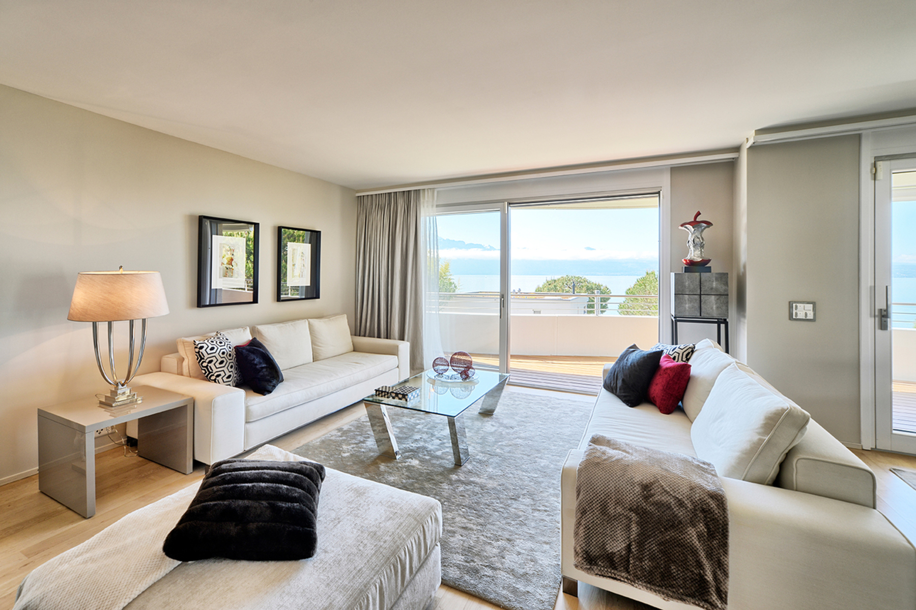 콘도미니엄 용 매매 에 Modern 4 room apartment, overlooking the lake Pully, Pully, 바우드, 1009 스위스