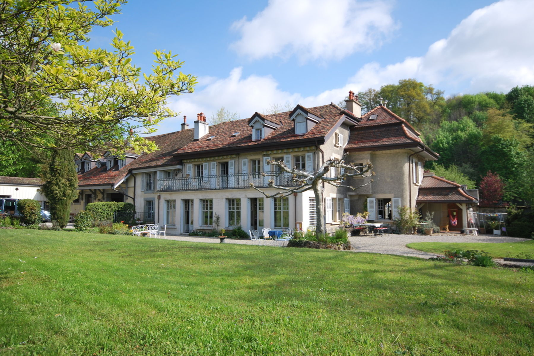 Single Family Home for Sale at 18th century mansion Lausanne-Prilly Lausanne, Vaud, 1007 Switzerland