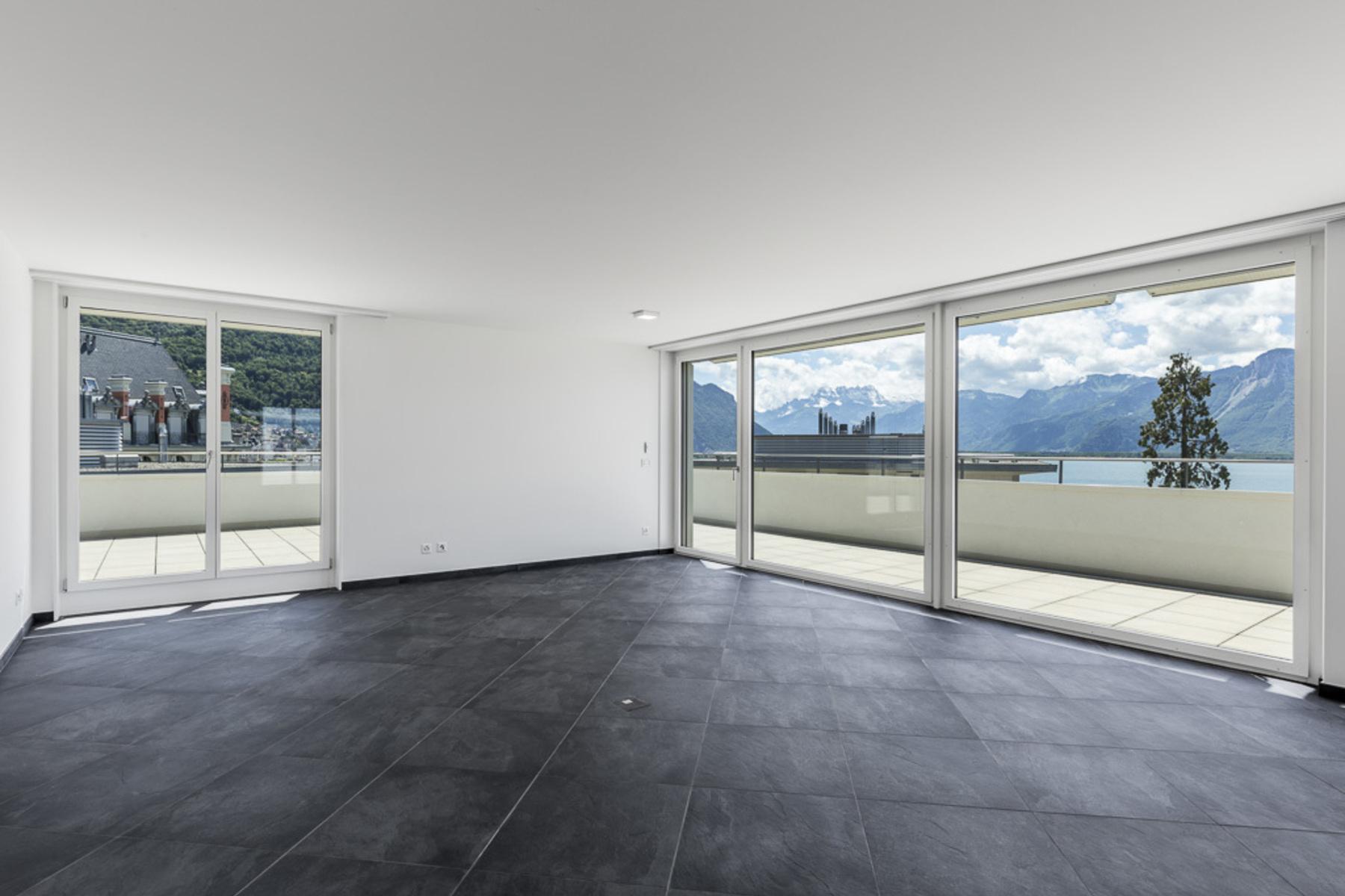 共管式独立产权公寓 为 销售 在 Luxury penthouse of 200 m² in the town centre Montreux, 蒙特勒, 沃州, 1820 瑞士