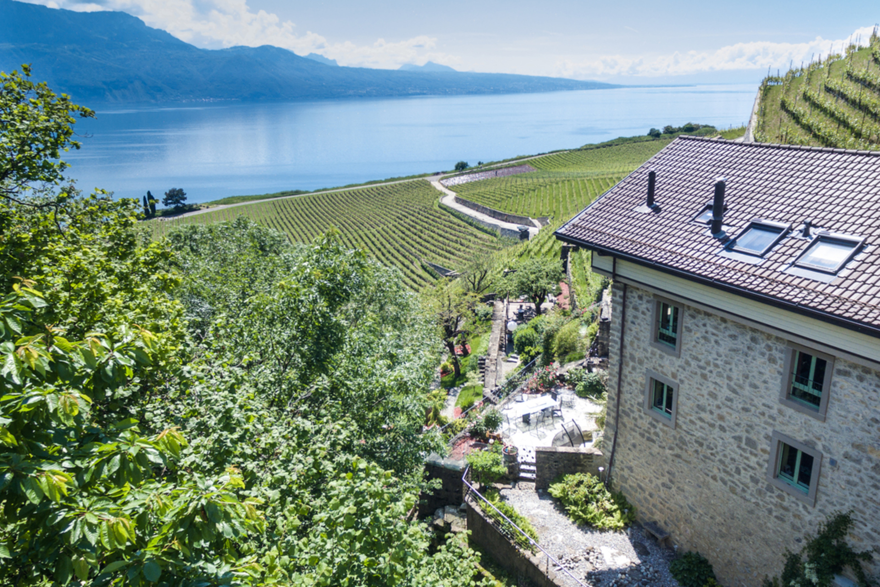 Single Family Home for Sale at Rare property in the heart of Lavaux Spectacular lake view Puidoux Chexbres, Vaud, 1071 Switzerland