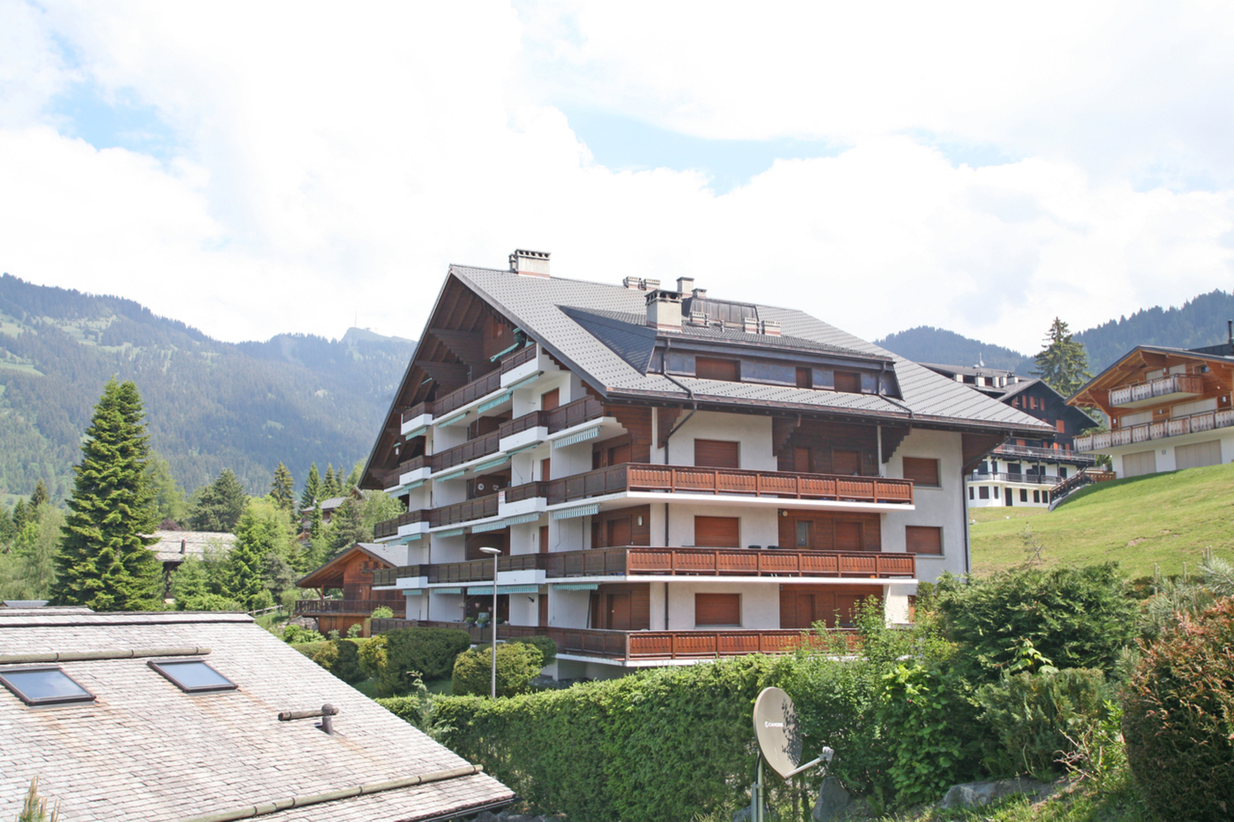Apartamento por un Venta en Girolles 1 Chemin de la Grangette 29 Villars-Sur-Ollon, Vaud, 1884 Suiza