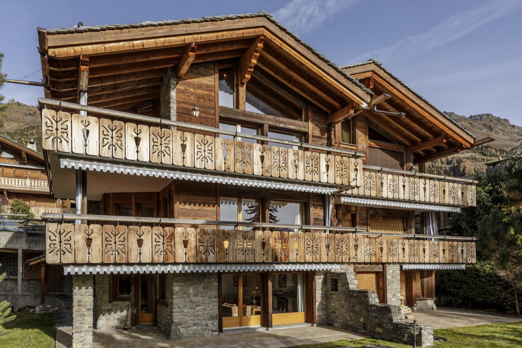 獨棟家庭住宅 為 出售 在 Chalet CHENEVAT Verbier, 瓦萊州, 1936 瑞士