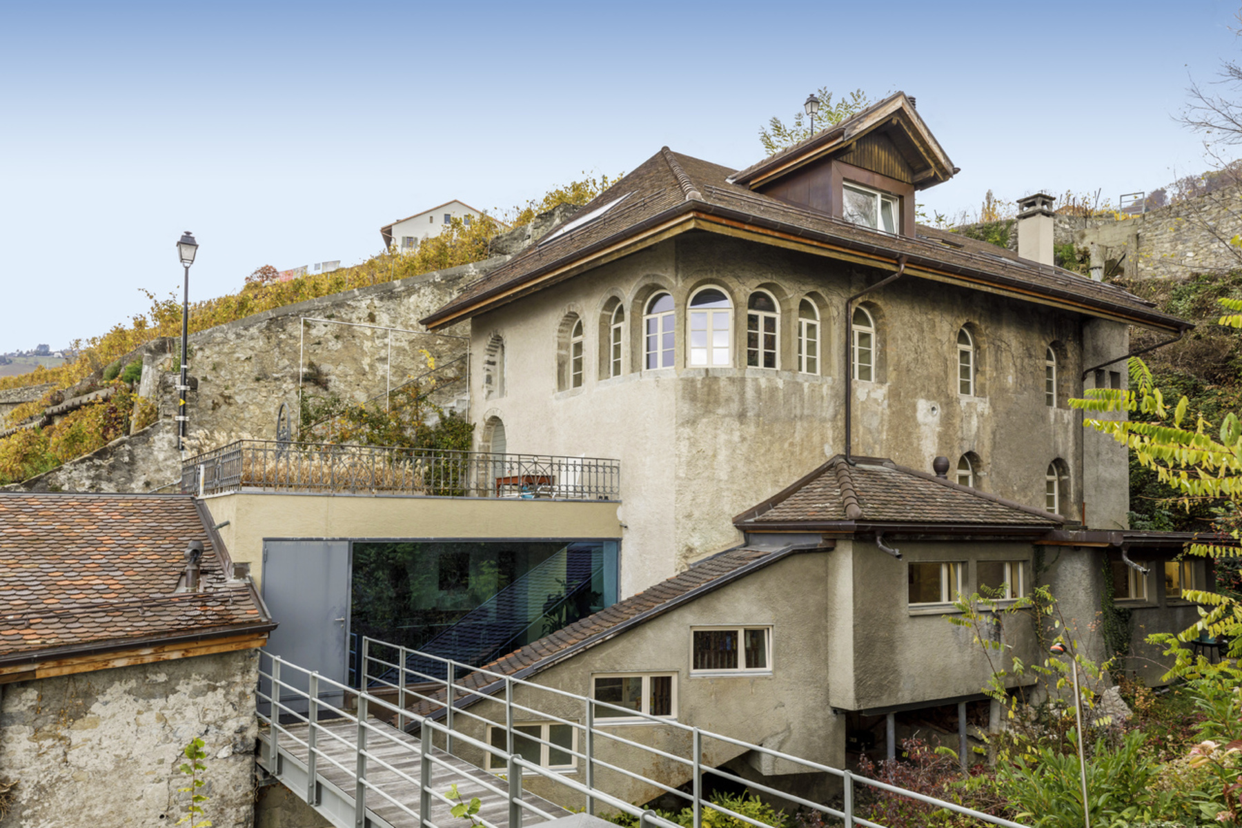 Single Family Home for Sale at Property in the heart of Lavaux with unique panorama of Lake Geneva Cully, Cully, Vaud, 1096 Switzerland