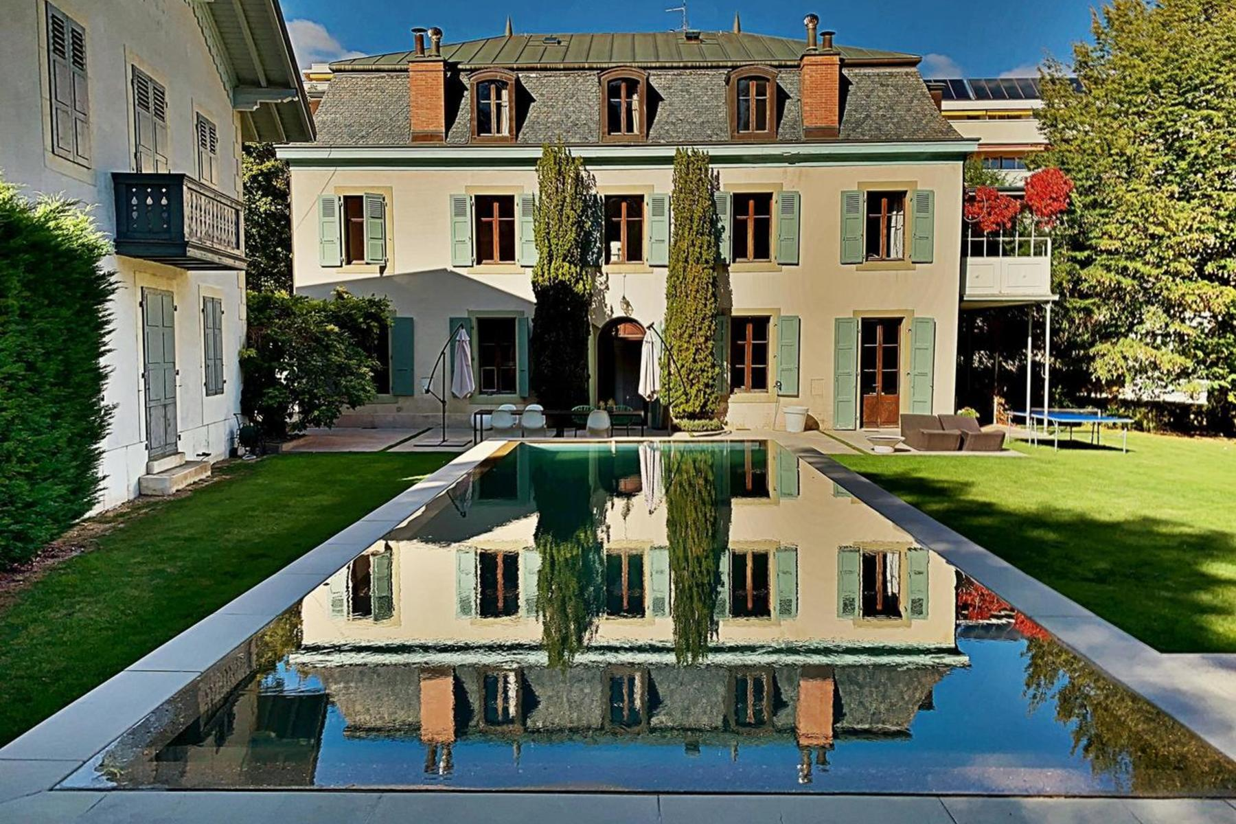 Single Family Homes for Sale at Magnificent Master property with large pavilion Versoix Versoix, Geneva 1290 Switzerland