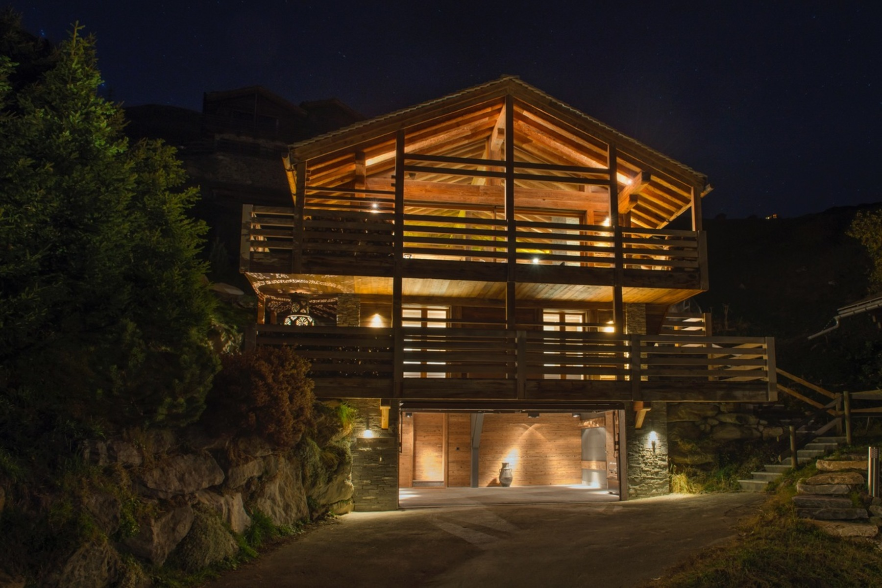 Single Family Home for Sale at Chalet ALPIN ROC Verbier, Valais 1936 Switzerland