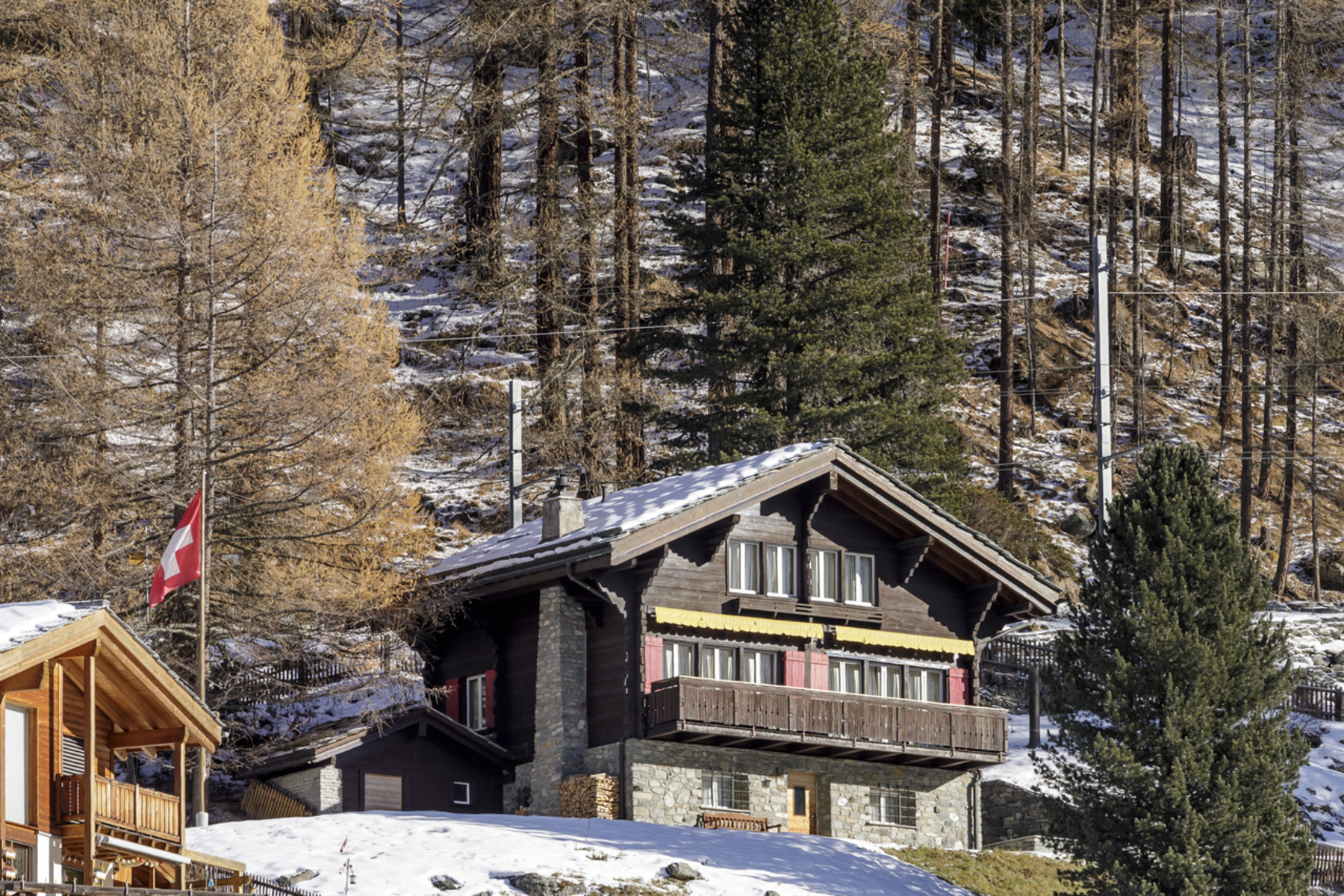 Single Family Homes for Sale at Hidden gem of a property above Winkelmatten Zermatt, Valais 3920 Switzerland