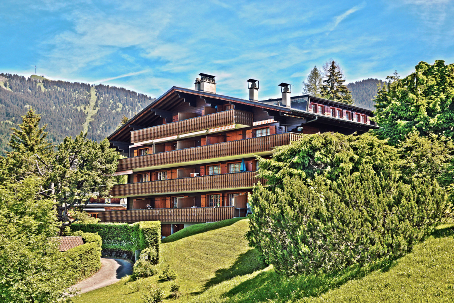 Apartment for Sale at Brévent 9 Rue de la gare 9 Villars-Sur-Ollon, Vaud, 1884 Switzerland