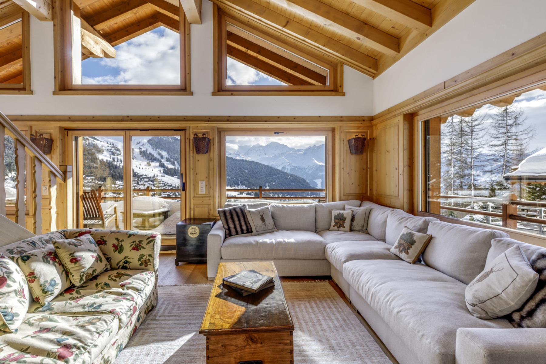 獨棟家庭住宅 為 出售 在 Chalet CHESA LUNA Verbier, 瓦萊州, 1936 瑞士