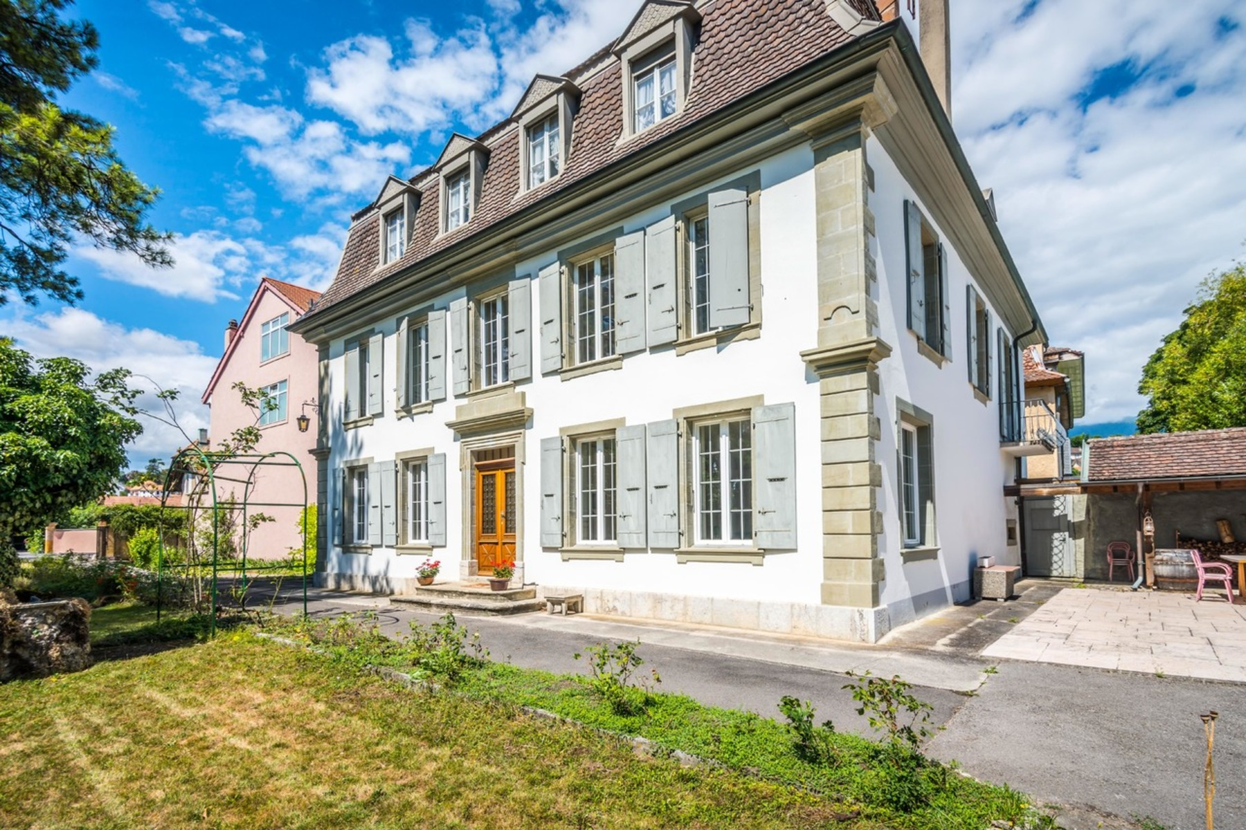 Single Family Home for Sale at Mansion with attractive riverside grounds Orbe, Orbe, Vaud, 1350 Switzerland