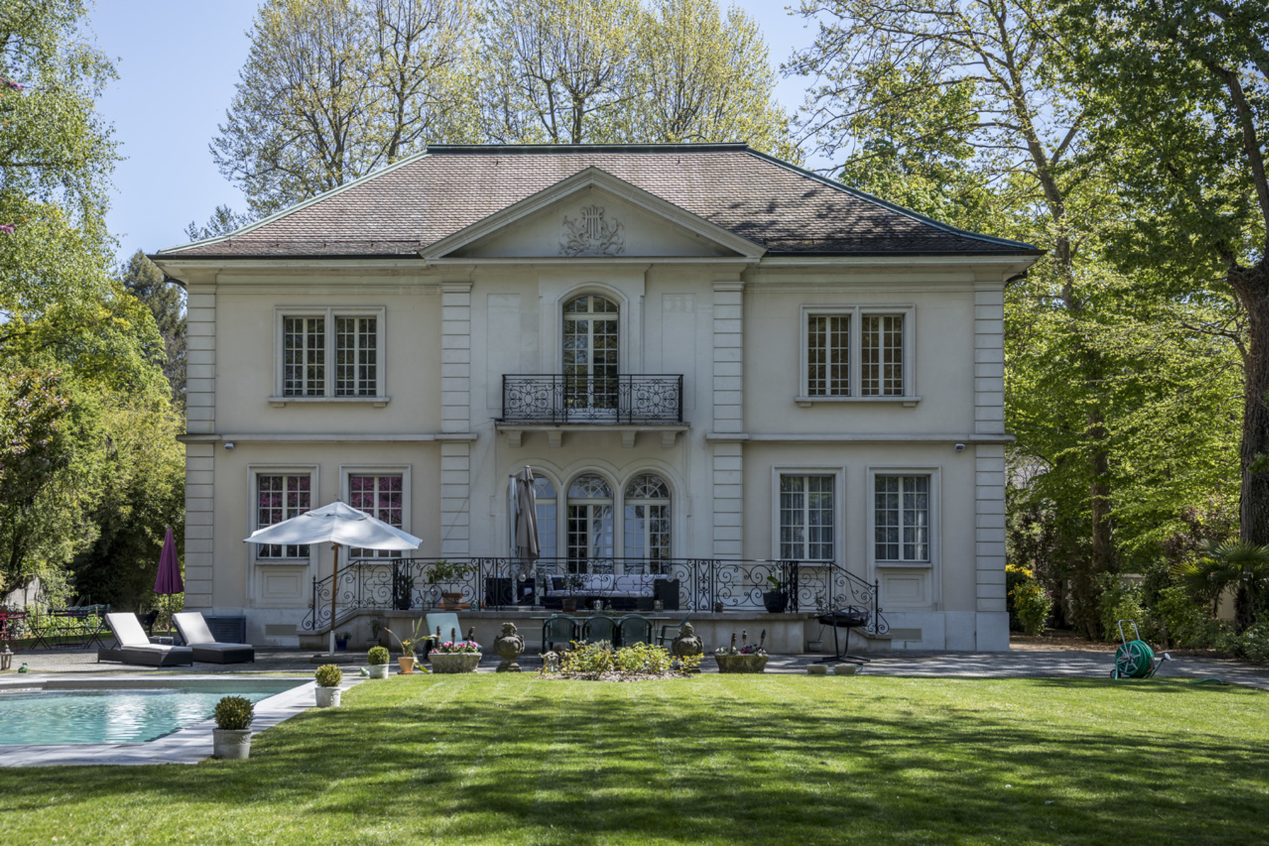 Single Family Home for Sale at Stunning waterfront mansion Vésenaz Vesenaz, Geneva, 1222 Switzerland