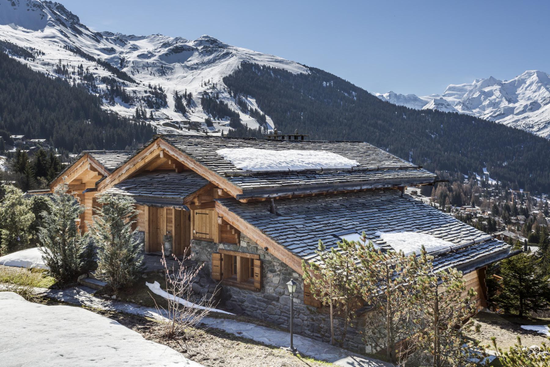 獨棟家庭住宅 為 出售 在 Chalet VÛTHÛT Switzerland Verbier, 瓦萊州, 1936 瑞士