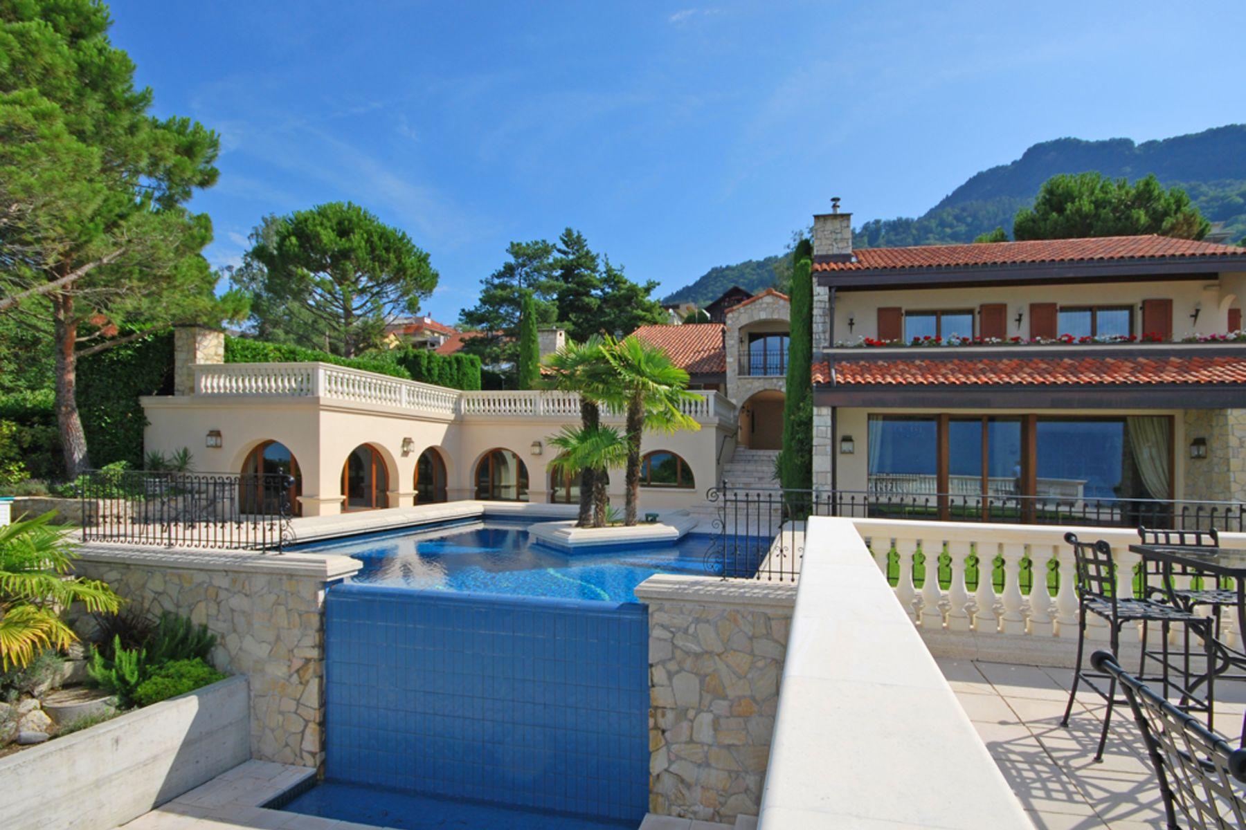 独户住宅 为 销售 在 Exceptional property with uninterrupted views Chernex/Montreux 蒙特勒, 沃州, 1820 瑞士