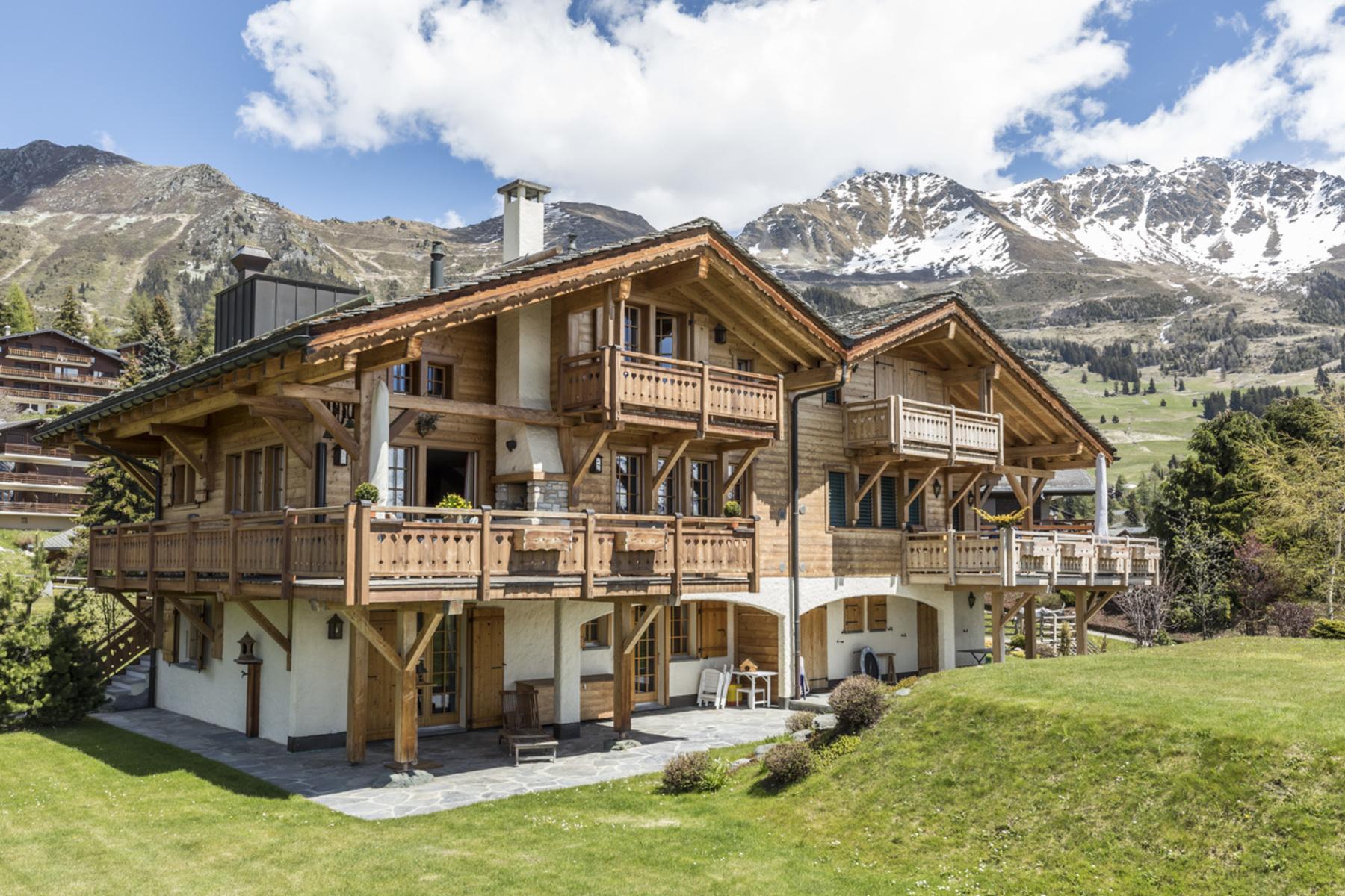 独户住宅 为 销售 在 Chalet MUSARAIGNE Verbier, 韦尔比耶, 瓦莱州, 1936 瑞士