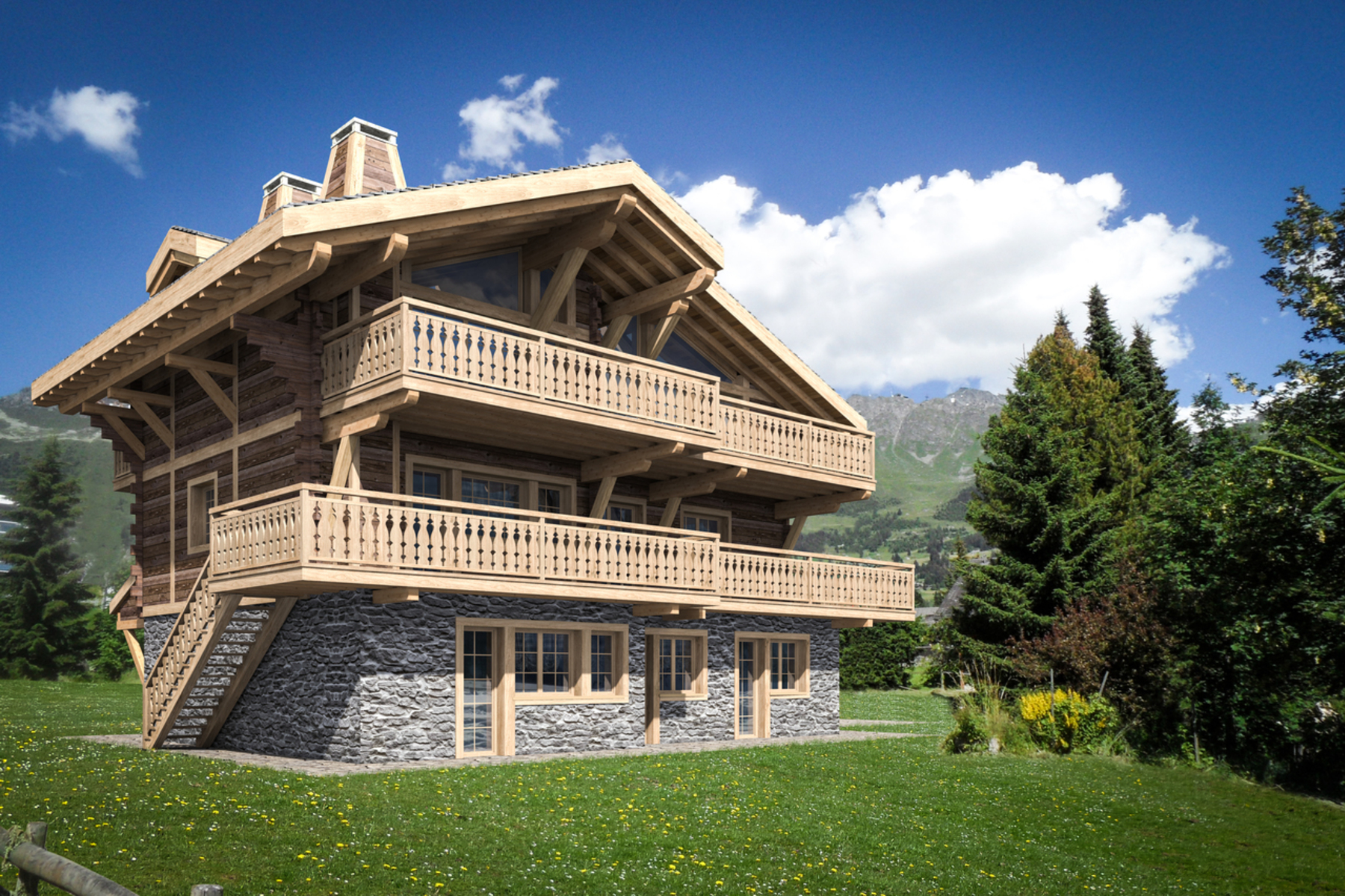 Single Family Home for Sale at Chalet SOMMETS Verbier, Valais, 1936 Switzerland