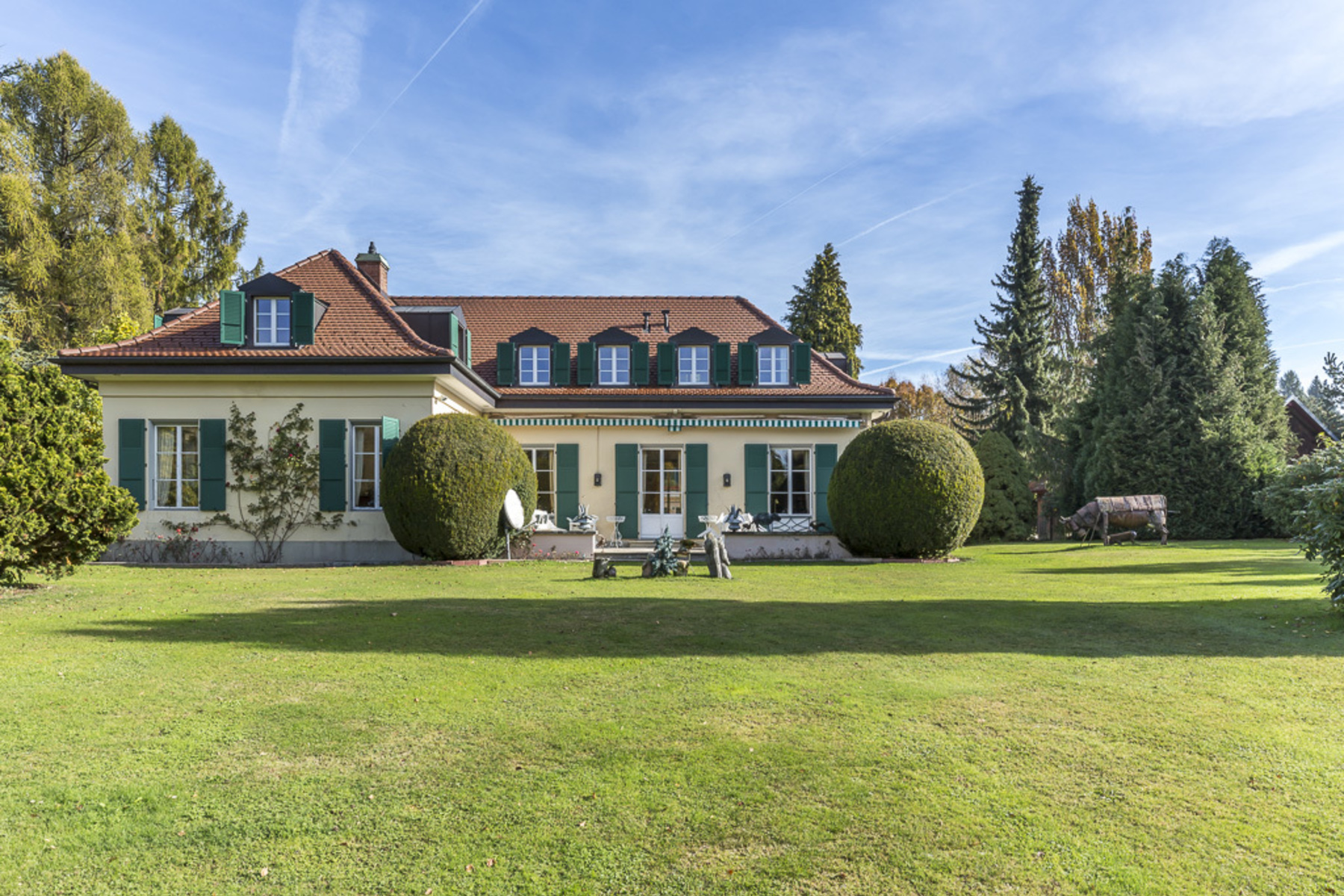 Single Family Home for Sale at Classical property in a leafy setting on the edge of town Epalinges, Epalinges, Vaud, 1066 Switzerland