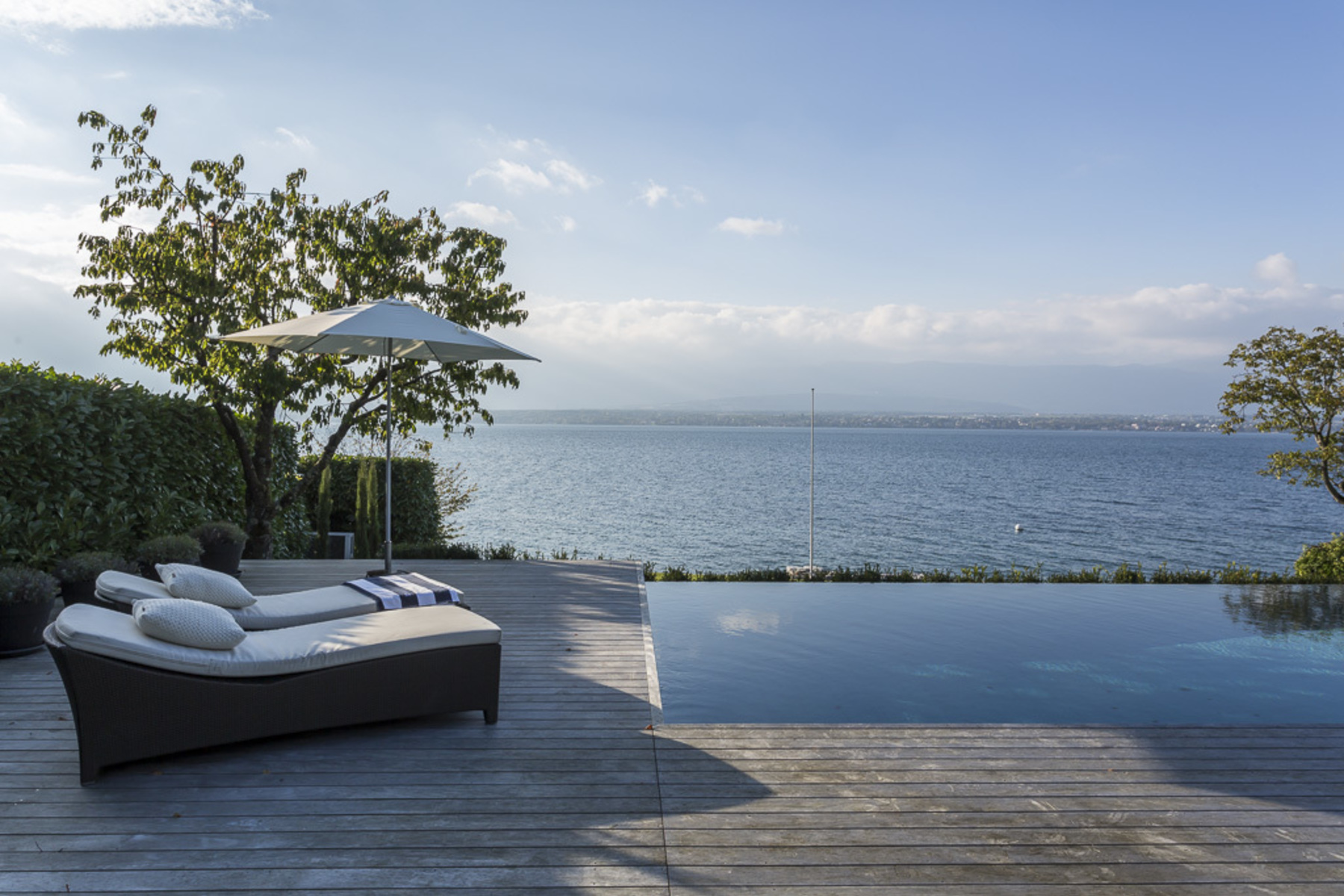 sales property at Architect-designed waterfront villa with private dock