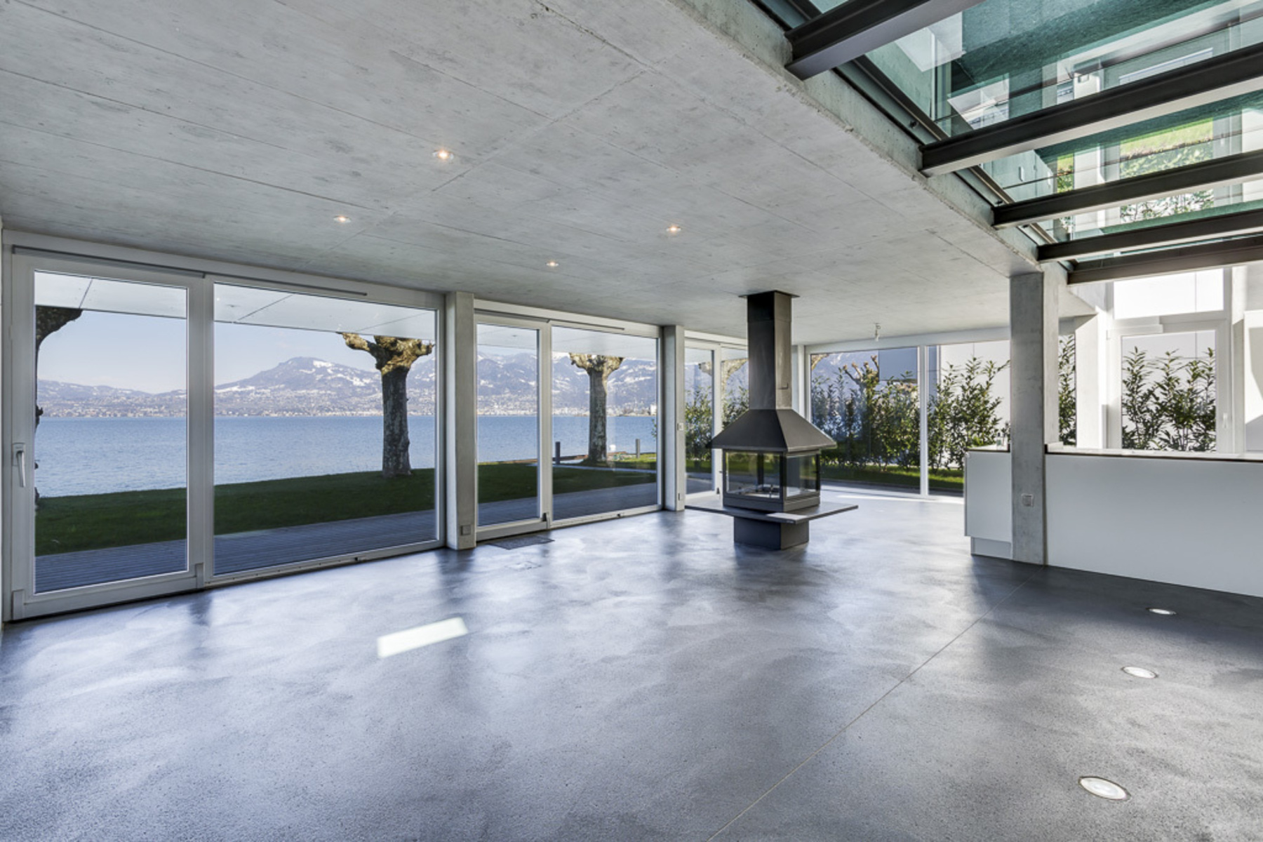 Single Family Home for Sale at Contemporary waterfront villa with mooring at private jetty Bouveret Bouveret, Vaud, 1897 Switzerland