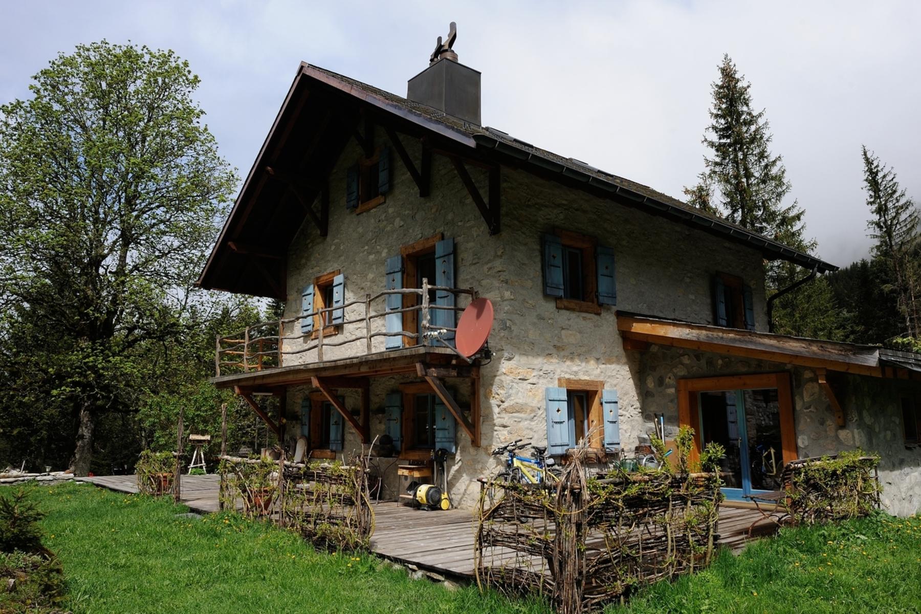 Maison unifamiliale pour l Vente à Les Sapins En Mattelon Bex, Vaud, 1880 Suisse