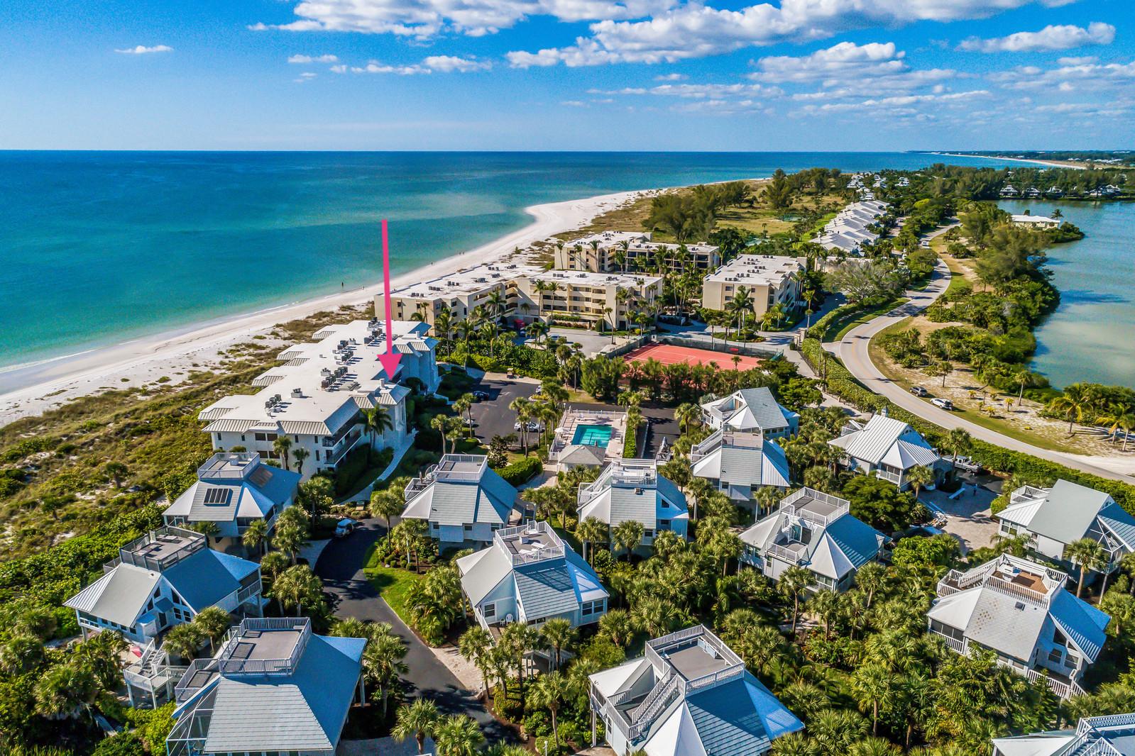 Condominiums por un Venta en Beach Manor 212 5000 Gasparilla Rd. Unit 212, Boca Grande, Florida 33921 Estados Unidos