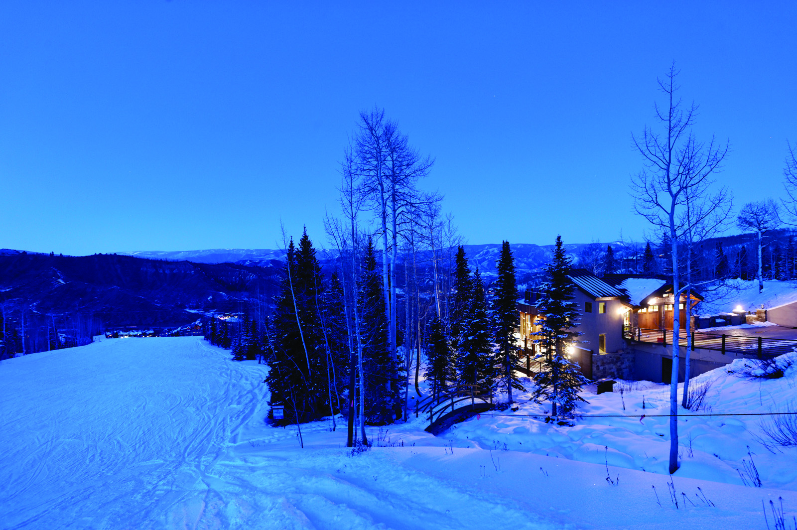 Single Family Home for Sale at The Ultimate Mountain Home 1457 Wood Rd Snowmass Village, Colorado 81615 United States
