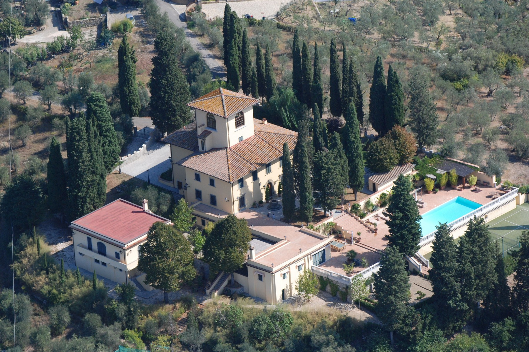 Single Family Home for Sale at An exclusive, fully restored 14th century villa with every commodity in Florence Via Belvedere Bagno A Ripoli, Florence 50100 Italy