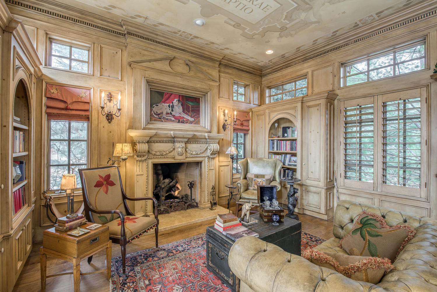 Additional photo for property listing at English Manor House with Splendid Sophistication & Elegant Appointments 4580 S Franklin Street Cherry Hills Village, Colorado 80113 United States