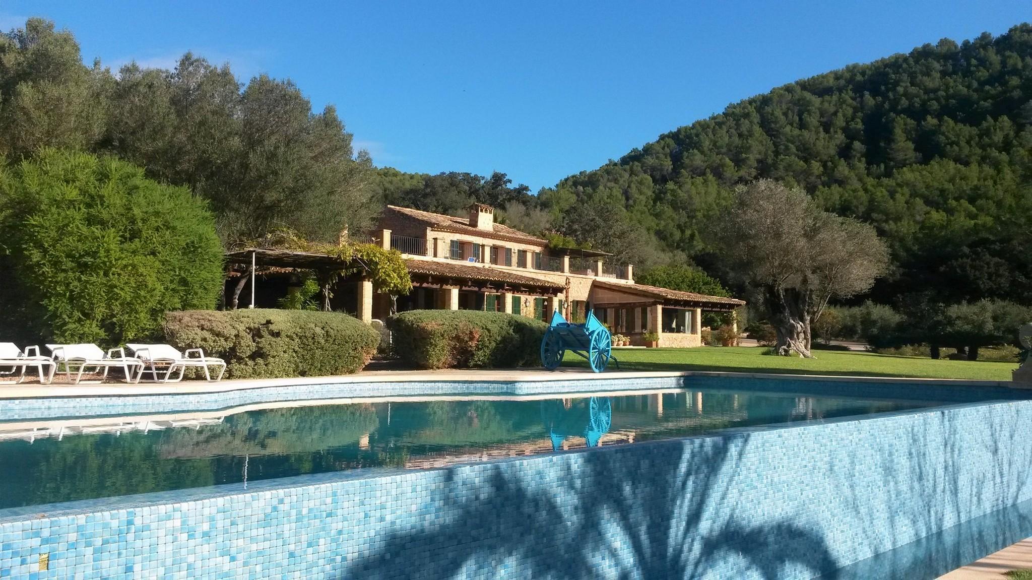 Maison unifamiliale pour l à louer à Exclusive country house with mountain views Esporles, Majorque, 07190 Espagne
