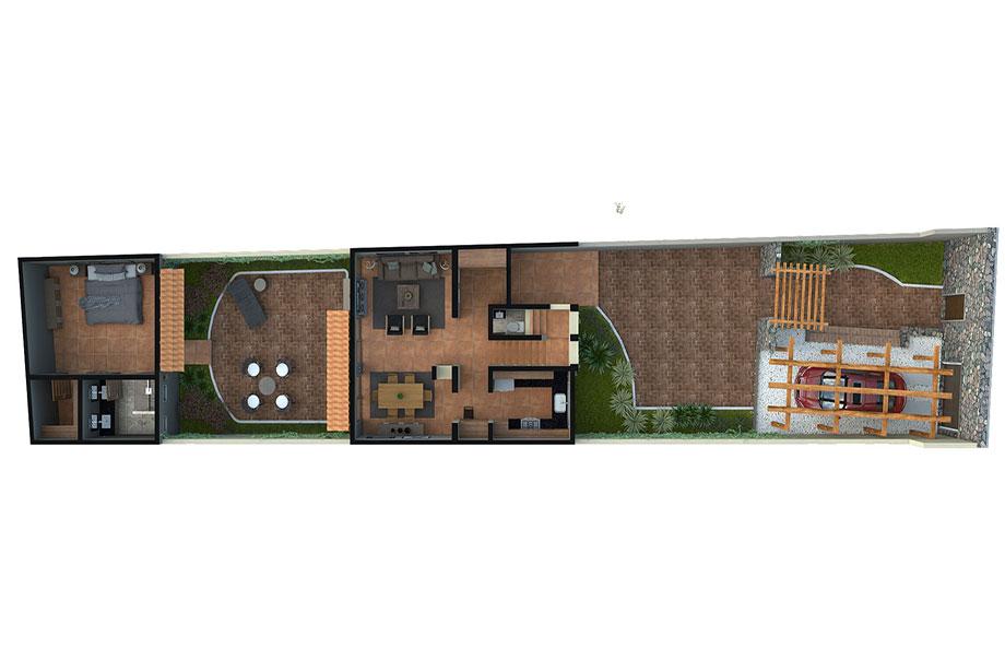 Single Family Home for Sale at Casa Luz Calzada de la Presa San Miguel De Allende, Guanajuato 37700 Mexico