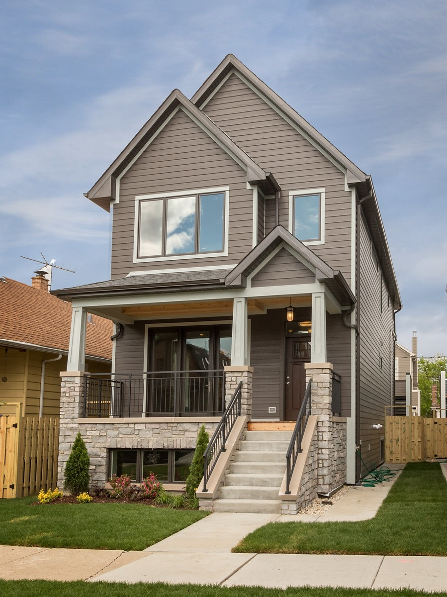 獨棟家庭住宅 為 出售 在 Stunning New Construction 3650 N Artesian Avenue Chicago, 伊利諾斯州, 60618 美國