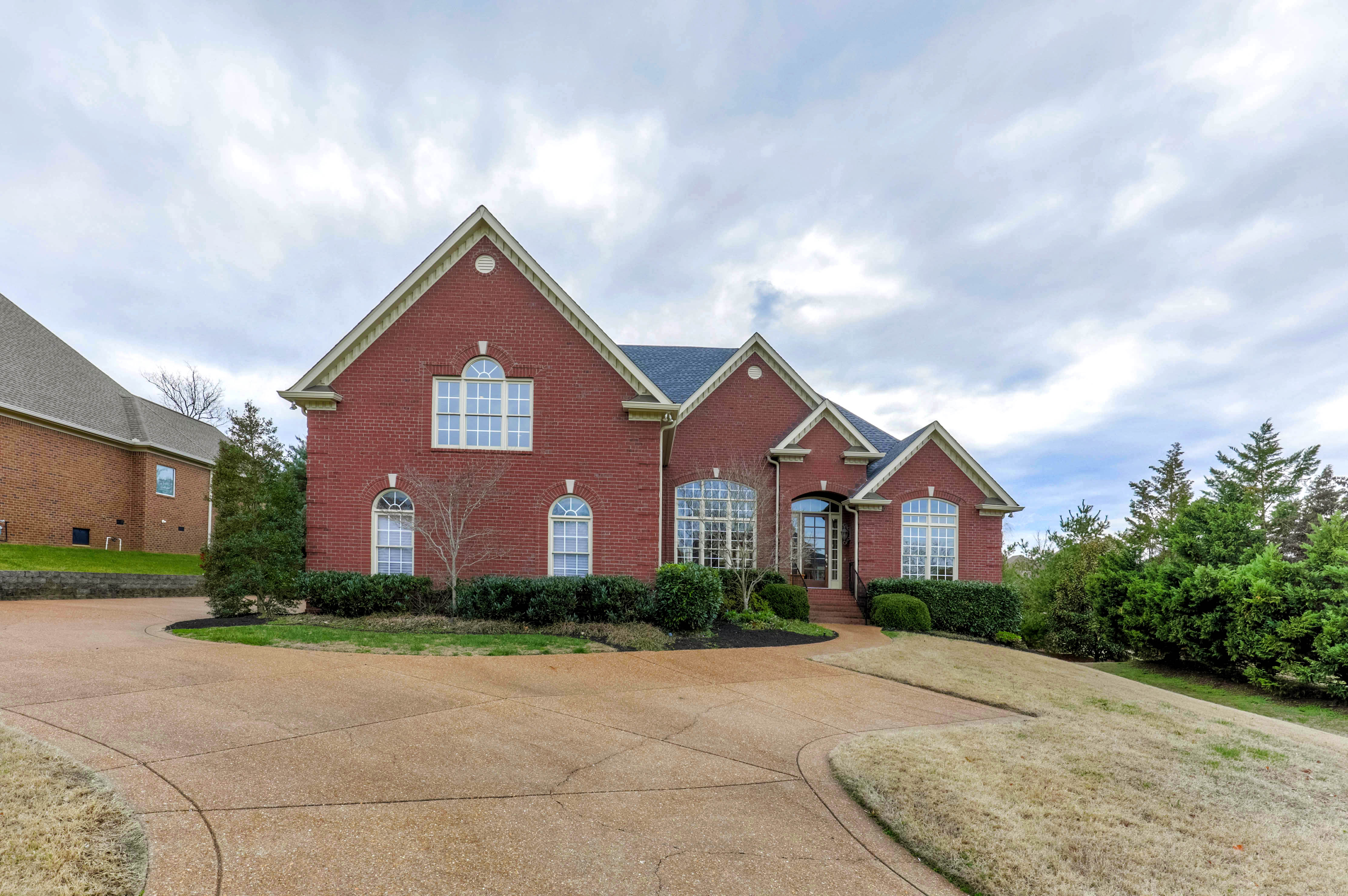 Single Family Home for Sale at Traditional Brick in Brentwood 9703 Amethyst Lane Nashville, Tennessee 37027 United States