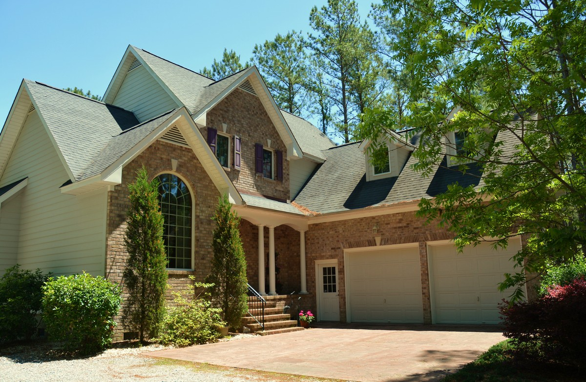 Single Family Home for Sale at Beautiful Brick Waterfront Home 484 Bay Shores Rd. Merritt, North Carolina 28556 United States