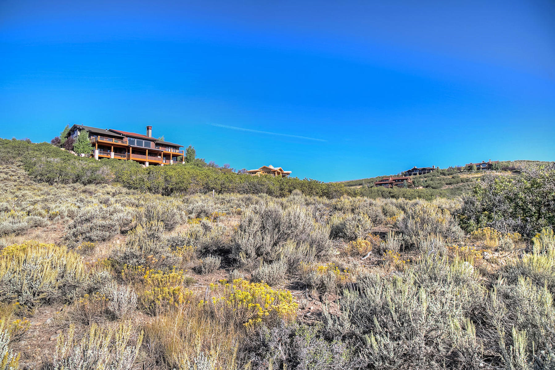 Terreno por un Venta en Gorgeous Uintah Mountain View 7865 Moon Dog Ct Lot 86 Park City, Utah, 84098 Estados Unidos