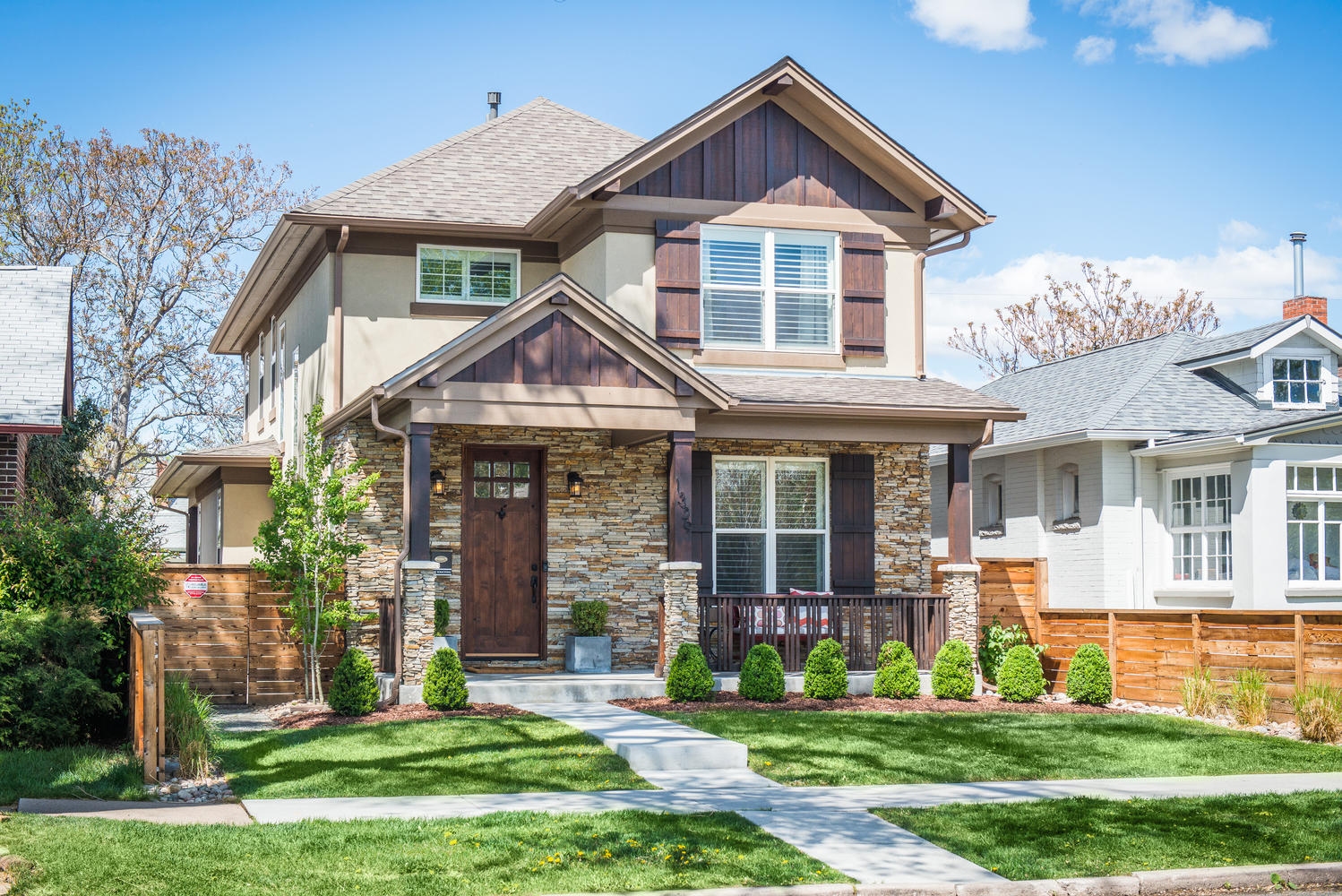 Single Family Home for Sale at Stunning Newer Build Contemporary Home 1329 South Sherman Street Denver, Colorado, 80210 United States