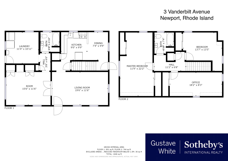 Single Family Homes por un Venta en Charming Cape 3 Vanderbilt Avenue Newport, Rhode Island 02840 Estados Unidos
