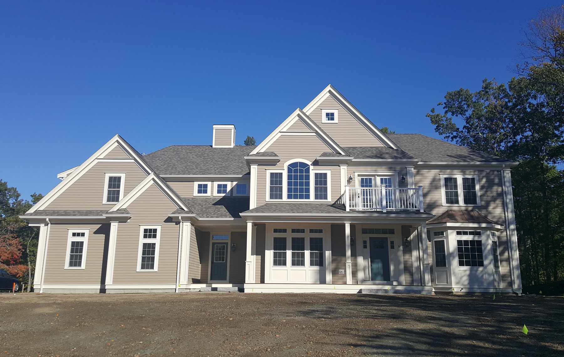 Single Family Home for Sale at Highland Park New Home Kennedy Model Lot 6 Stoney Brook Road Hopkinton, Massachusetts 01748 United States