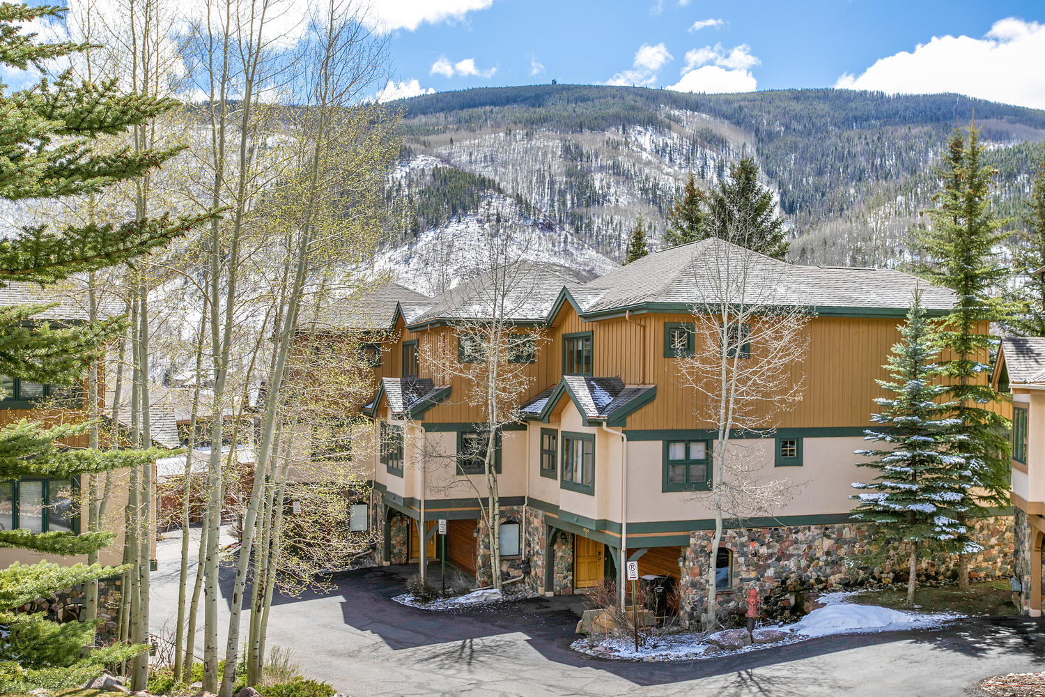 Townhouse for Sale at Chateau Tremonte #5 1890 Lions Ridge Loop #5 Sandstone, Vail, Colorado, 81657 United States