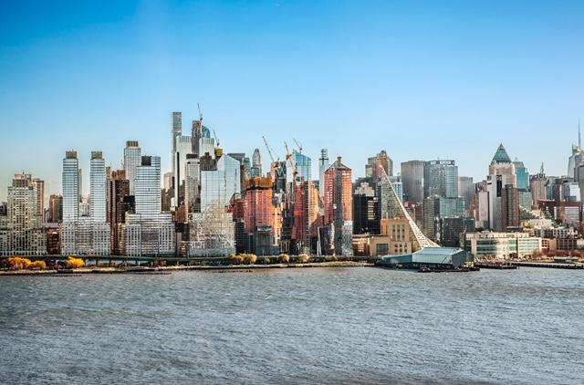 Кондоминиум для того Продажа на Nine on The Hudson 9 Avenue at Port Imperial #1001 West New York, Нью-Джерси 07093 Соединенные Штаты