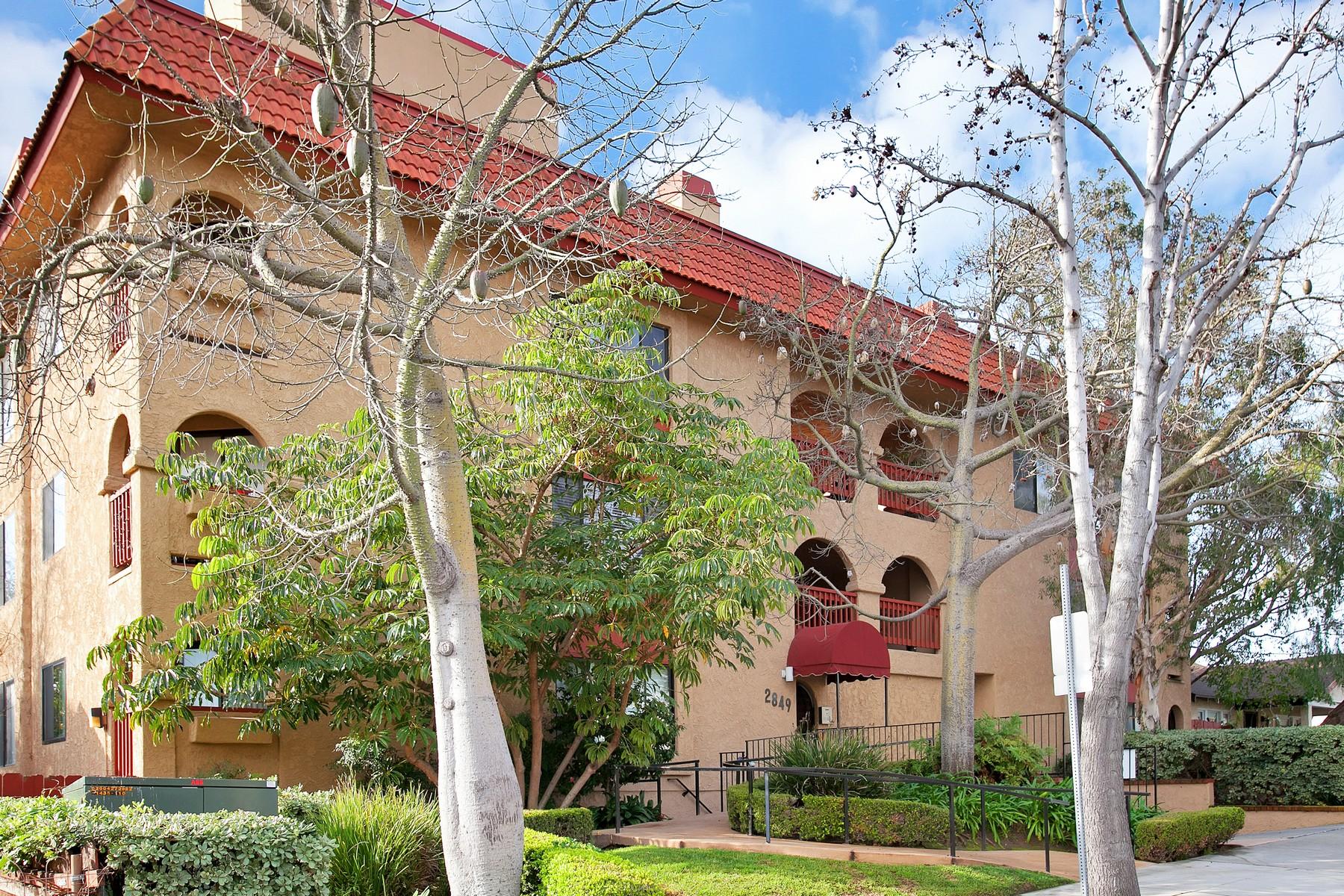 共管式独立产权公寓 为 销售 在 2849 E. Street, Unit 7 2849 E. Street 7 圣地亚哥, 加利福尼亚州, 92102 美国