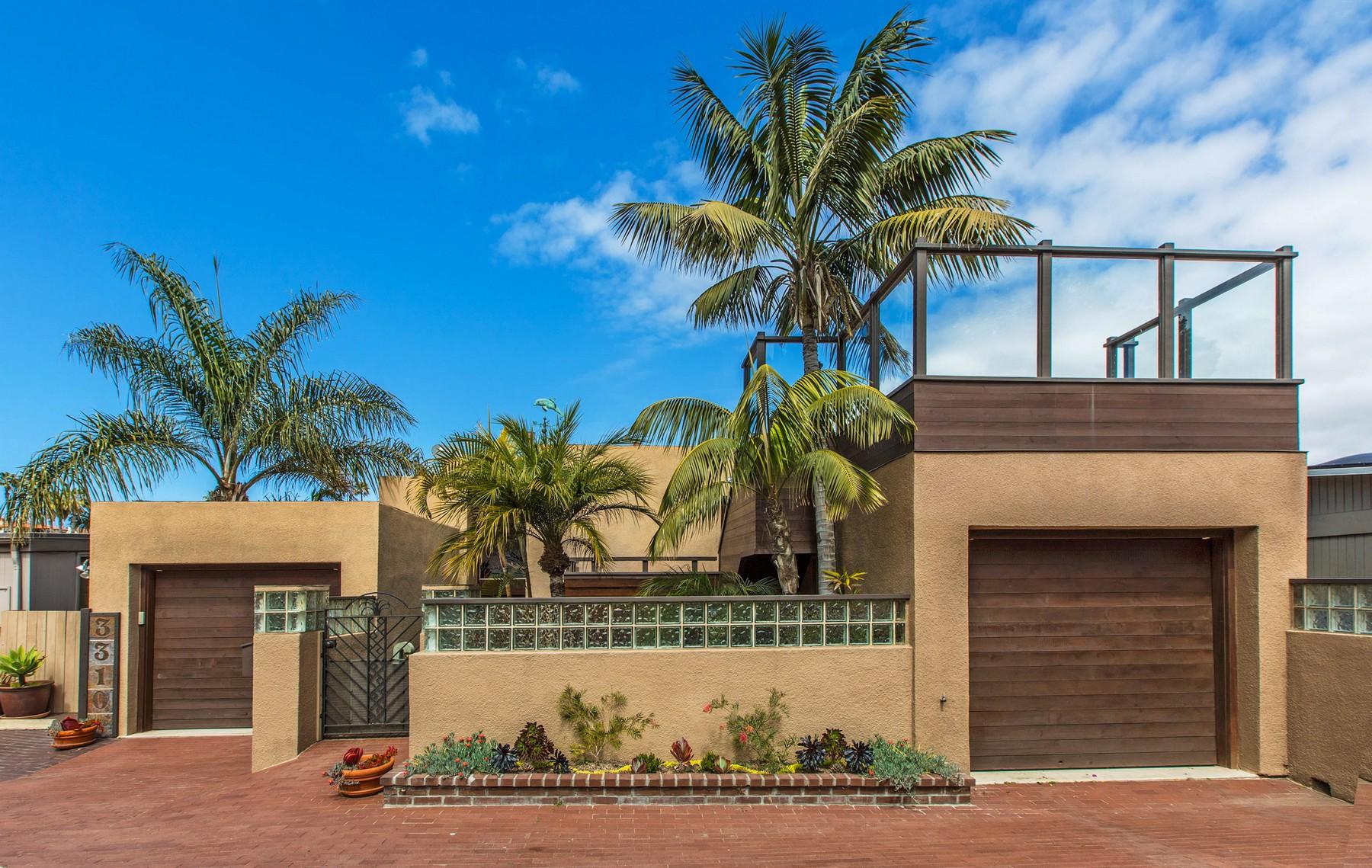 واحد منزل الأسرة للـ Sale في 3310 Martinez San Diego, California, 92106 United States