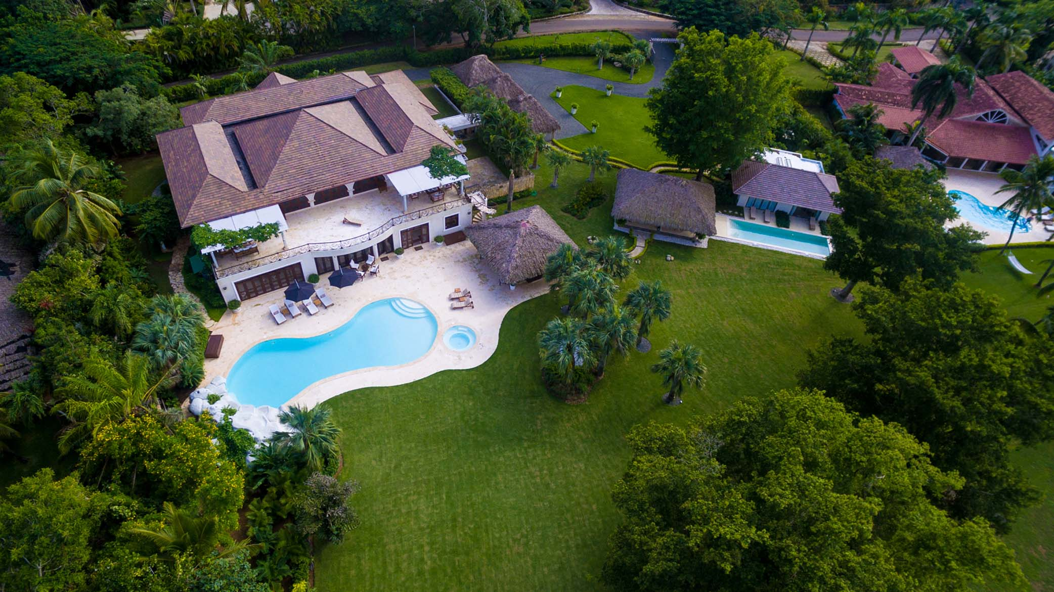 Single Family Home for Sale at An exquisite double-lot estate close to the sea Casa De Campo, La Romana Dominican Republic