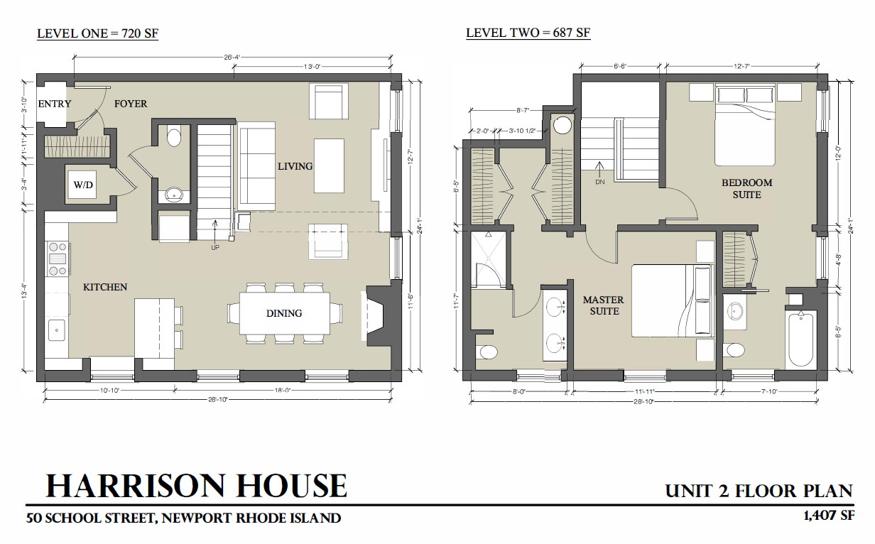 Condominiums for Sale at Harrison House Luxury Condo 50 School Street, Unit #2 Newport, Rhode Island 02840 United States