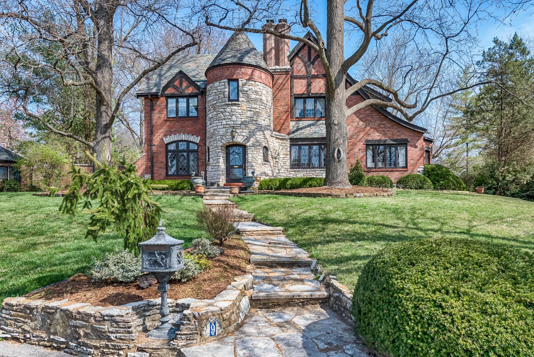 獨棟家庭住宅 為 出售 在 The Prado 9 The Prado Ladue, 密蘇里州, 63124 美國