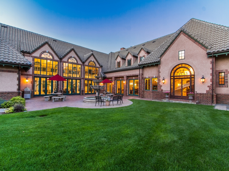 Single Family Home for Active at Extraordinary Estate on Pristine Acreage in Polo Club 530 S. University Boulevard Denver, 80209 United States