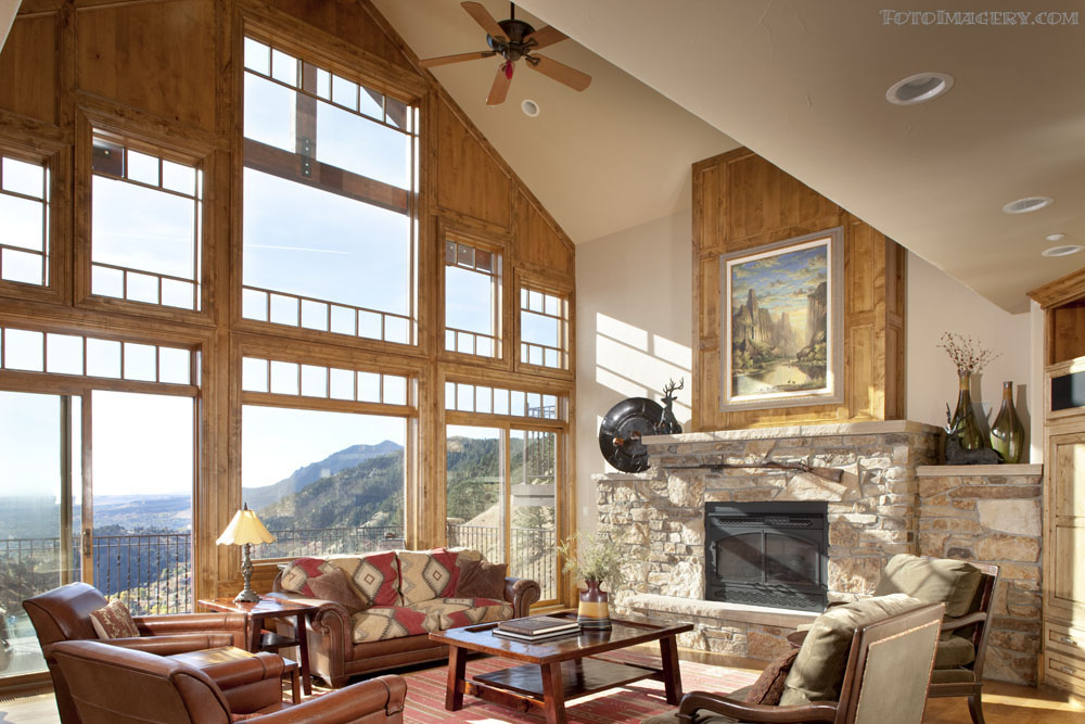 Single Family Home for Sale at Stunning Contemporary Mountain Home 166 Valley View Way Boulder, Colorado, 80304 United States