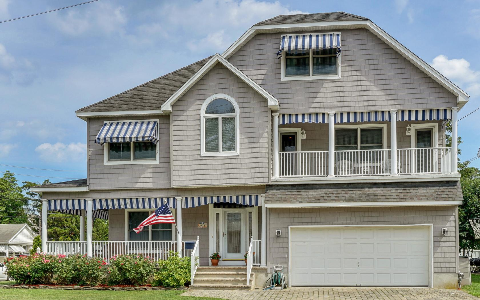 Single Family Home for Rent at Gracious Seashore Colonial 44 N Jackson Avenue Manasquan, New Jersey 08736 United States
