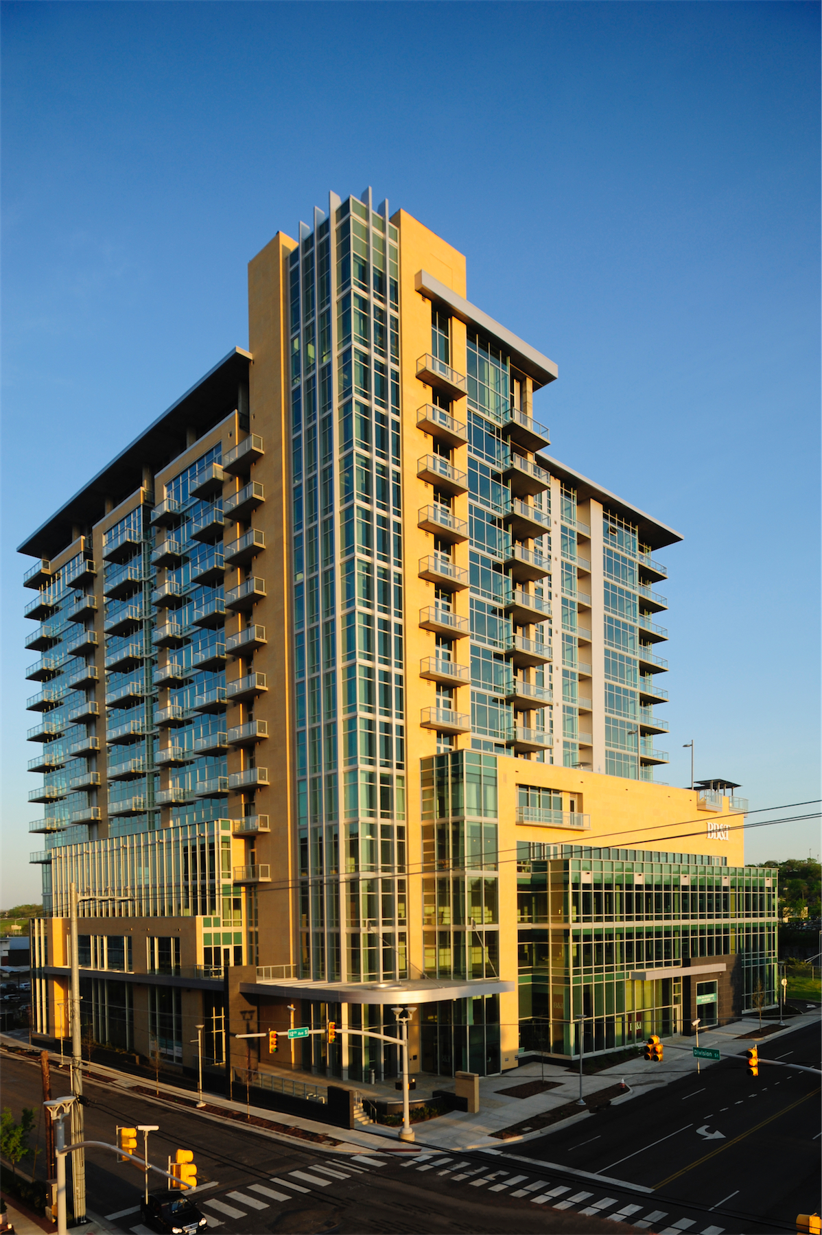 Condominium for Rent at Fantastic One Bedroom Terrazzo Rental 700 12th Avenue South Unit 508 Nashville, Tennessee 37203 United States