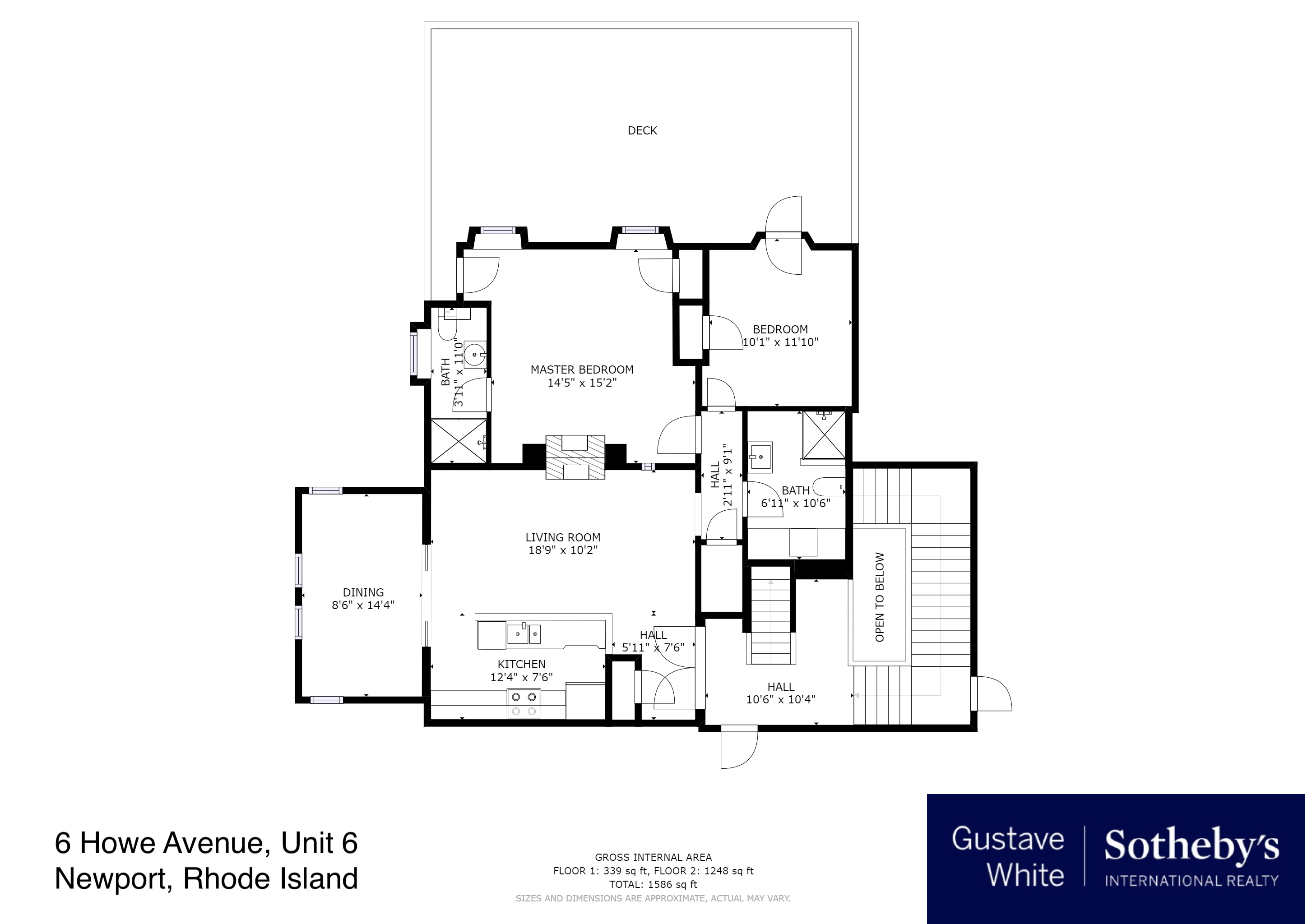 Condominiums for Sale at The Hedges 6 Howe Avenue, Unit 6 Newport, Rhode Island 02840 United States