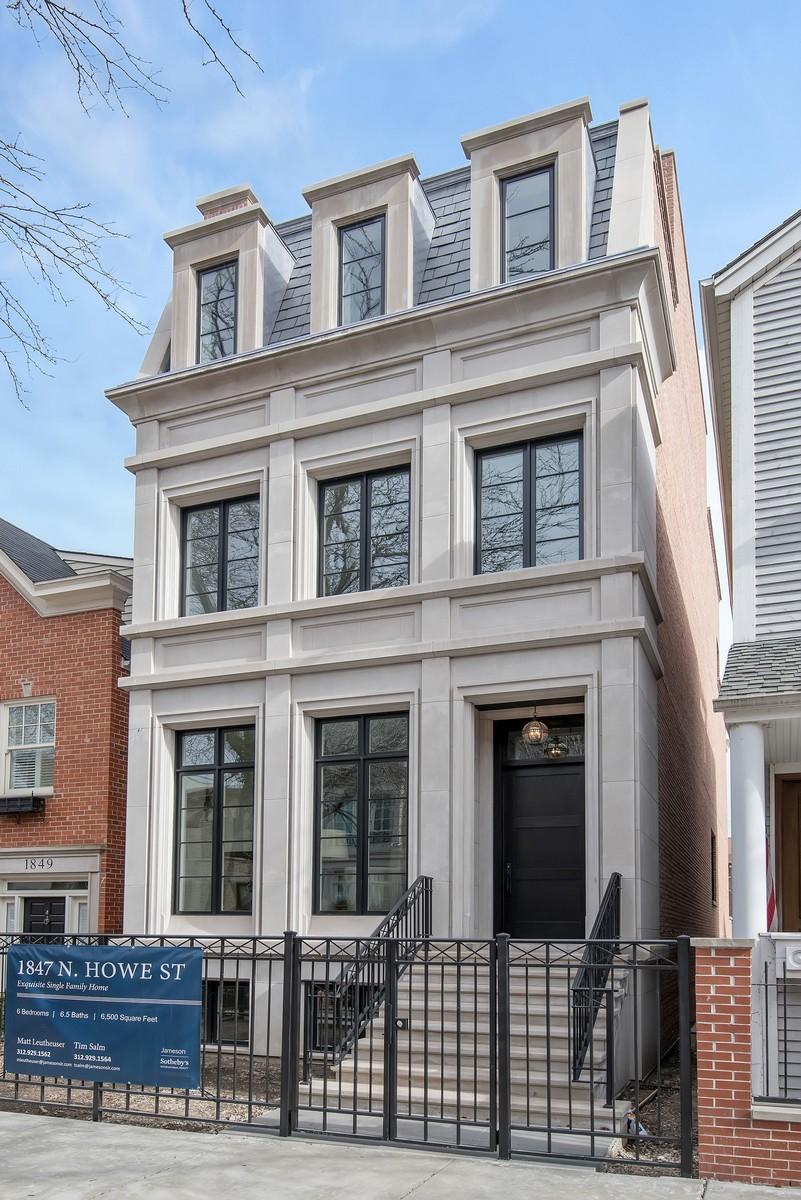 Tek Ailelik Ev için Satış at Meticulously Designed New Construction in Lincoln Park 1847 N Howe Street Chicago, Illinois, 60614 Amerika Birleşik Devletleri